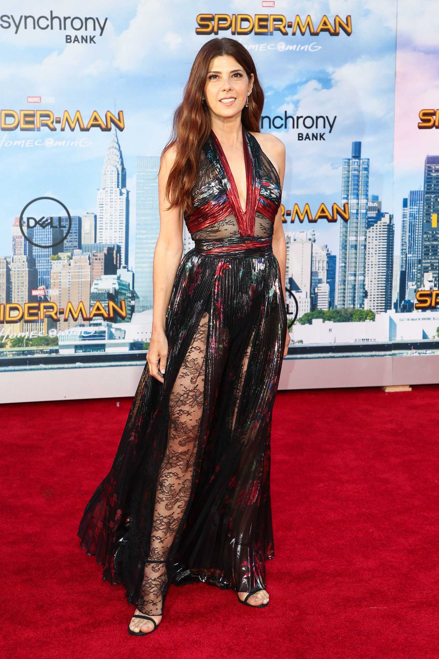 Marisa Tomei at the Spider-Man: Homecoming Premiere in Hollywood 06/28/2017