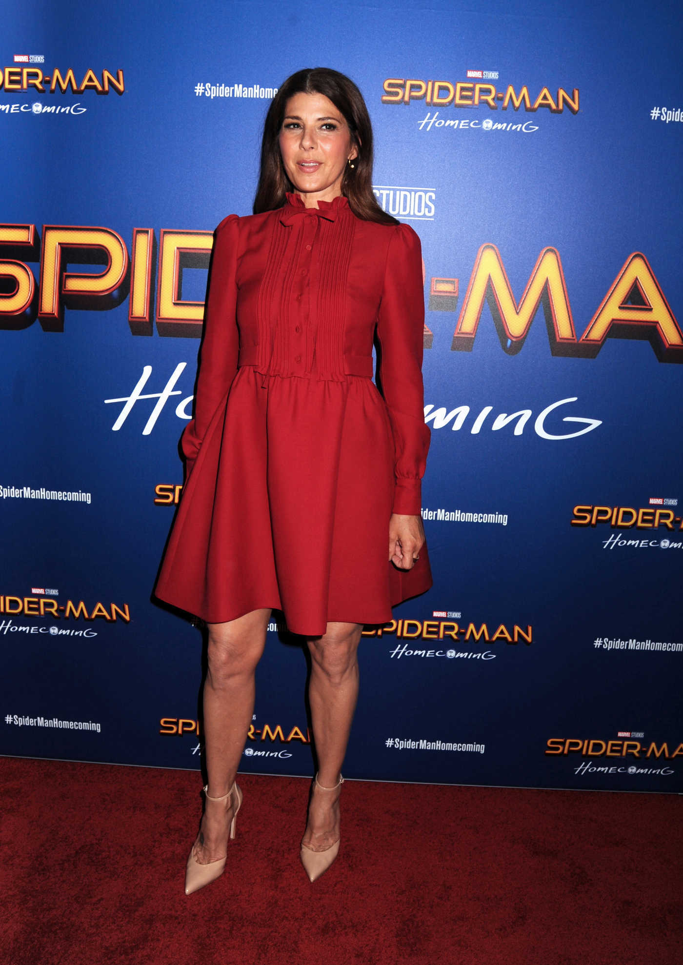 Marisa Tomei at the Spider-Man: Homecoming Screening in New York 06/26/2017