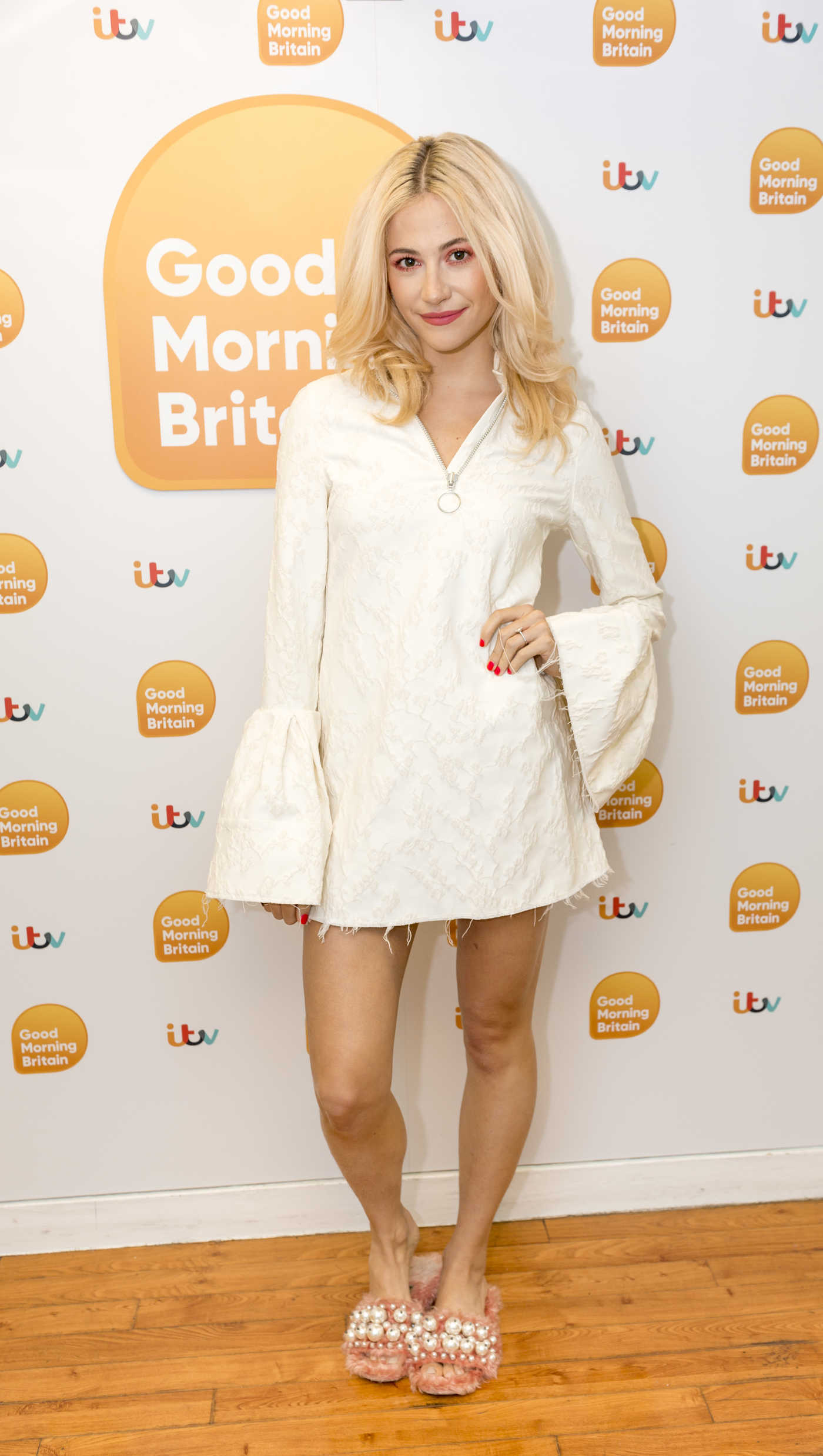 Pixie Lott at the Good Morning Britain TV Show in London 06/23/2017