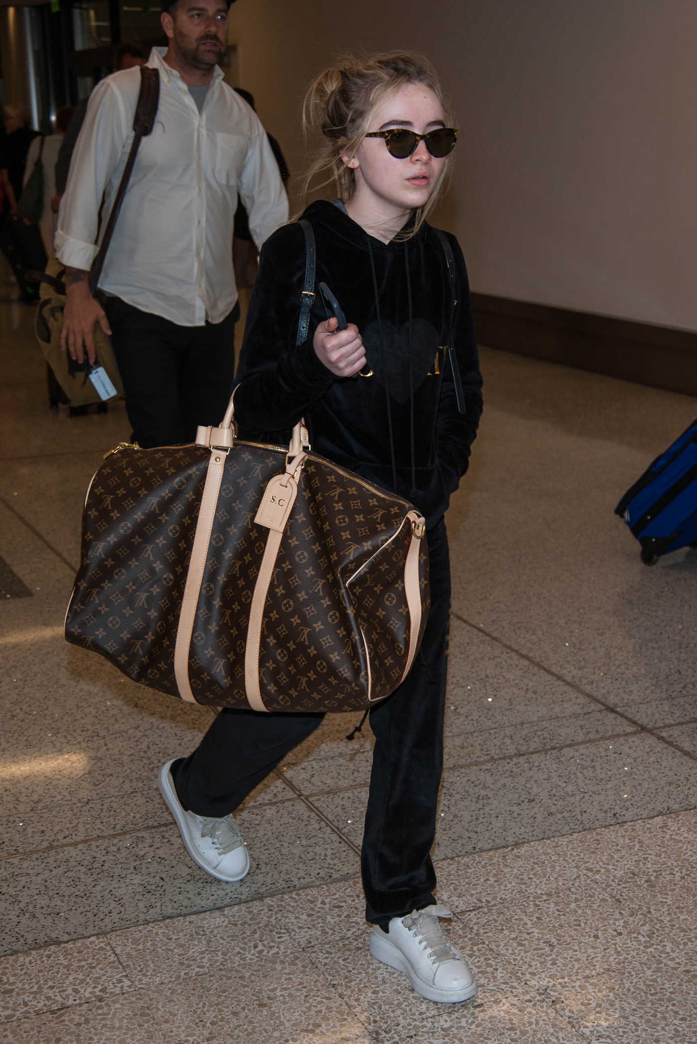 Sabrina Carpenter Was Seen at the LAX Airport in Los Angeles 06/18/2017