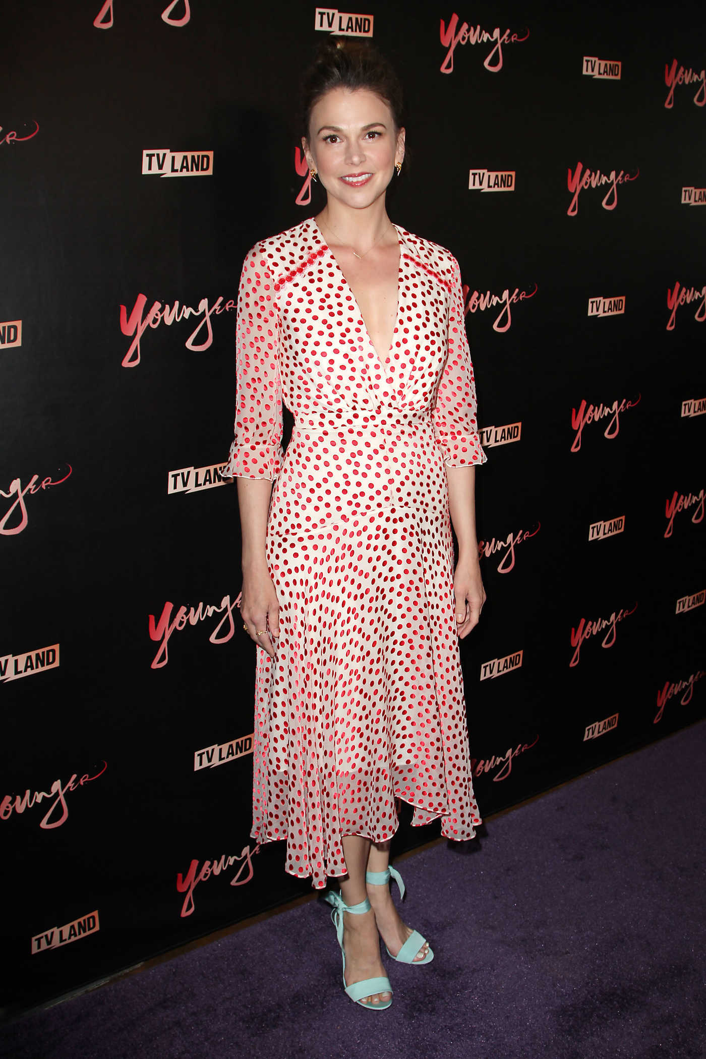 Sutton Foster at Younger Season 4 Premiere in New York 06/27/2017