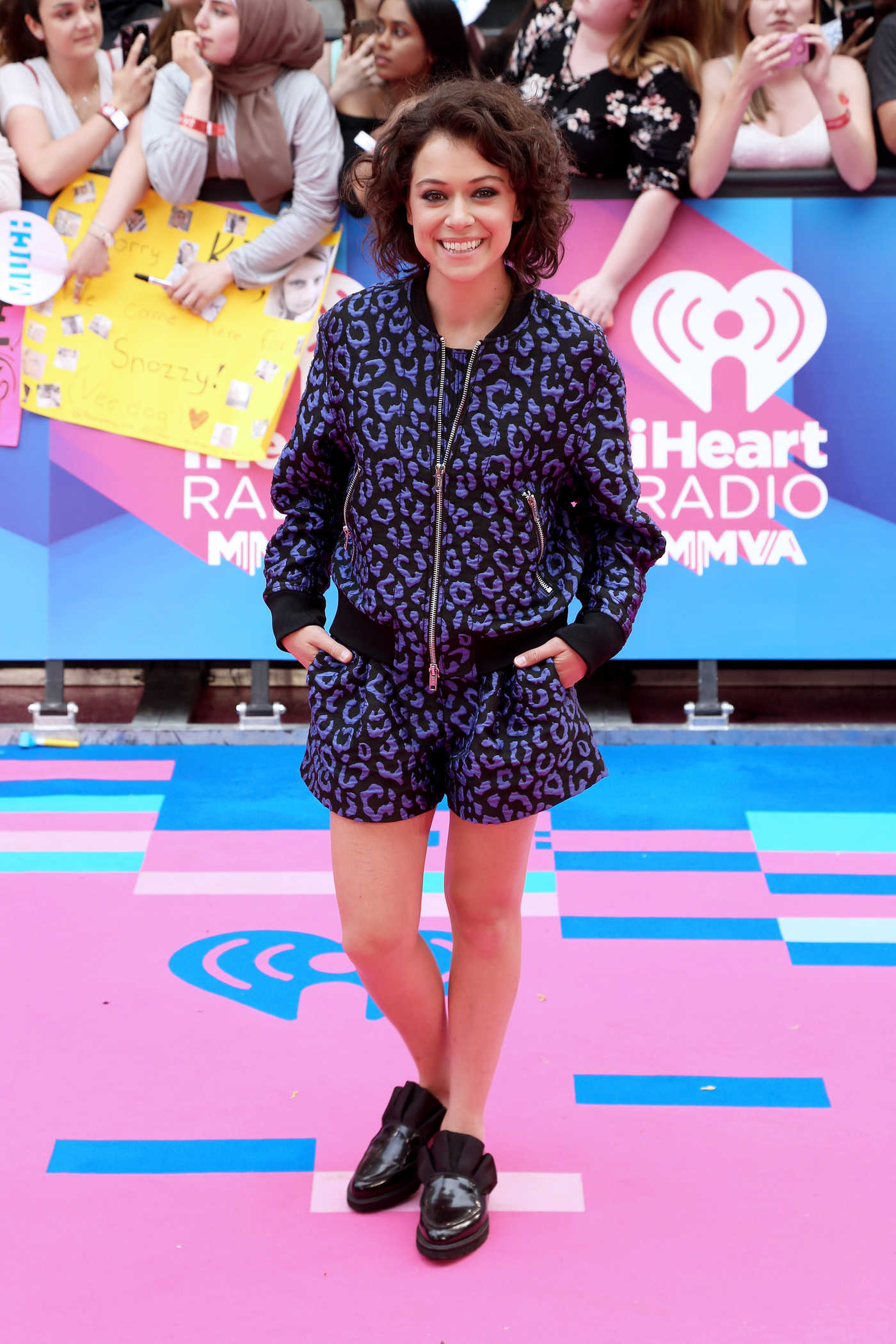 Tatiana Maslany Arrives at the iHeartRadio MuchMusic Video Awards in Toronto 06/18/2017