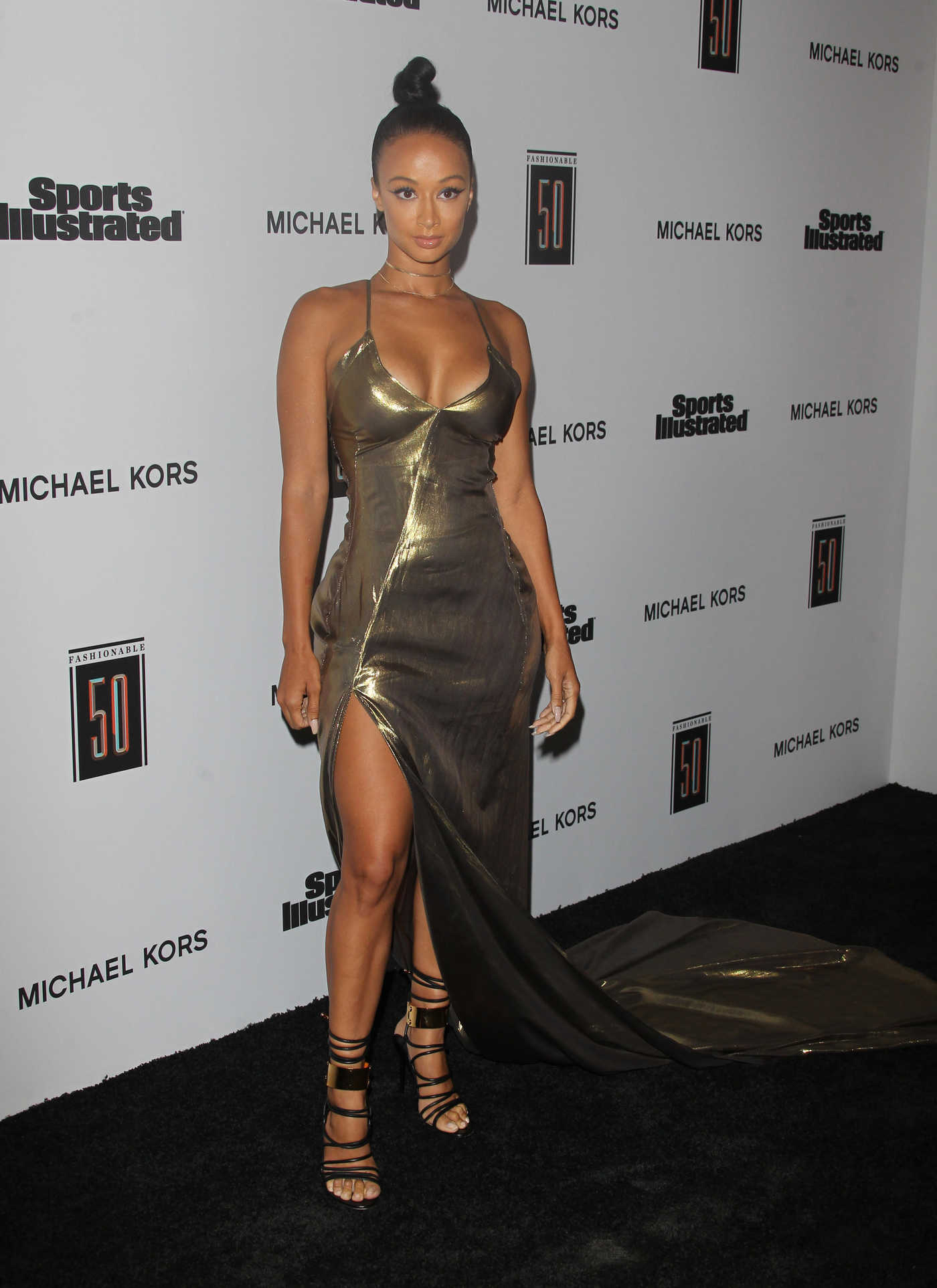 Draya Michele at the Sports Illustrated Fashionable 50 in Hollywood 07/18/2017