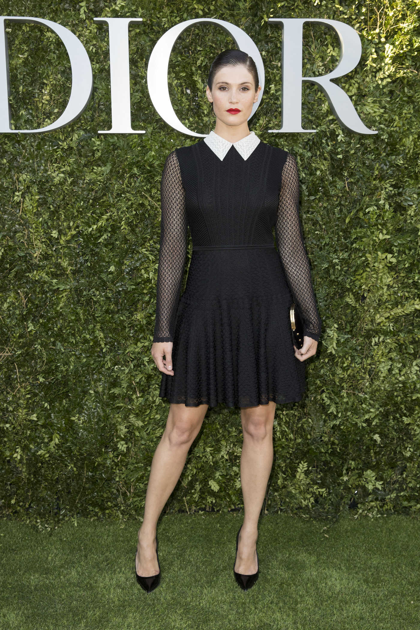 Gemma Arterton at the Christian Dior Couturier du Reve Exhibition Launch Celebrating 70 Years of Creation in Paris 07/03/2017