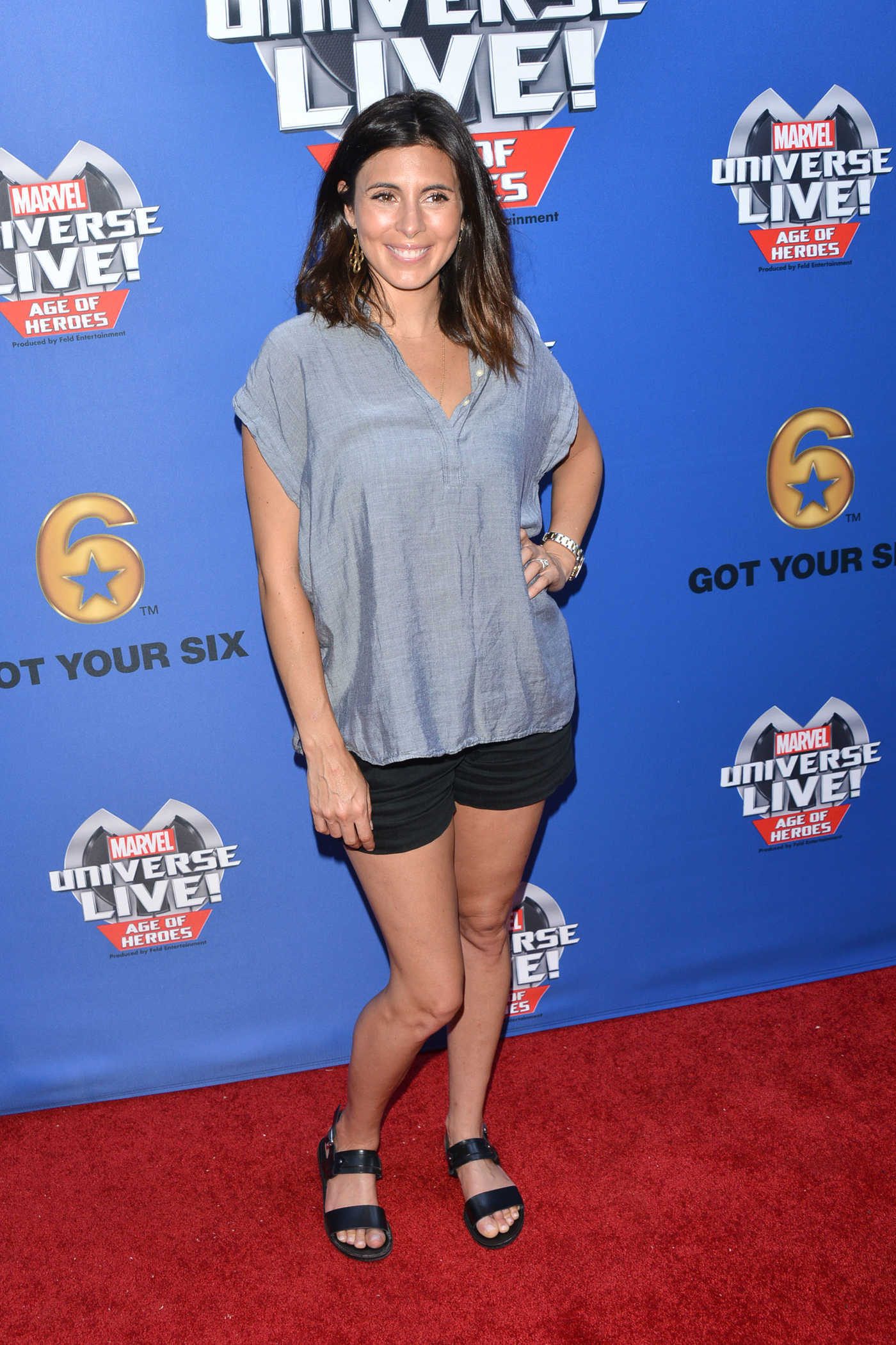 Jamie-Lynn Sigler at the Marvel Universe Live Premiere in Los Angeles 07/08/2017