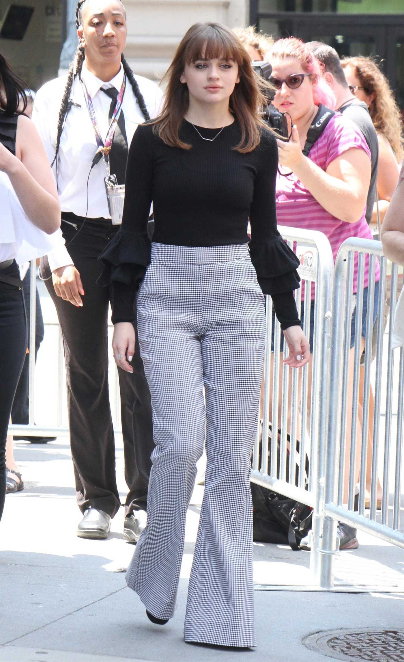 Joey King Arrives at AOL Build Speaker Series in New York 07/10/2017
