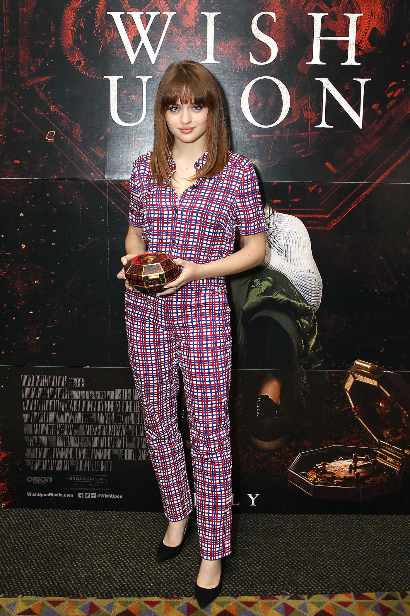 Joey King at the Special New York Fan Screening of Wish Upon 07/10/2017
