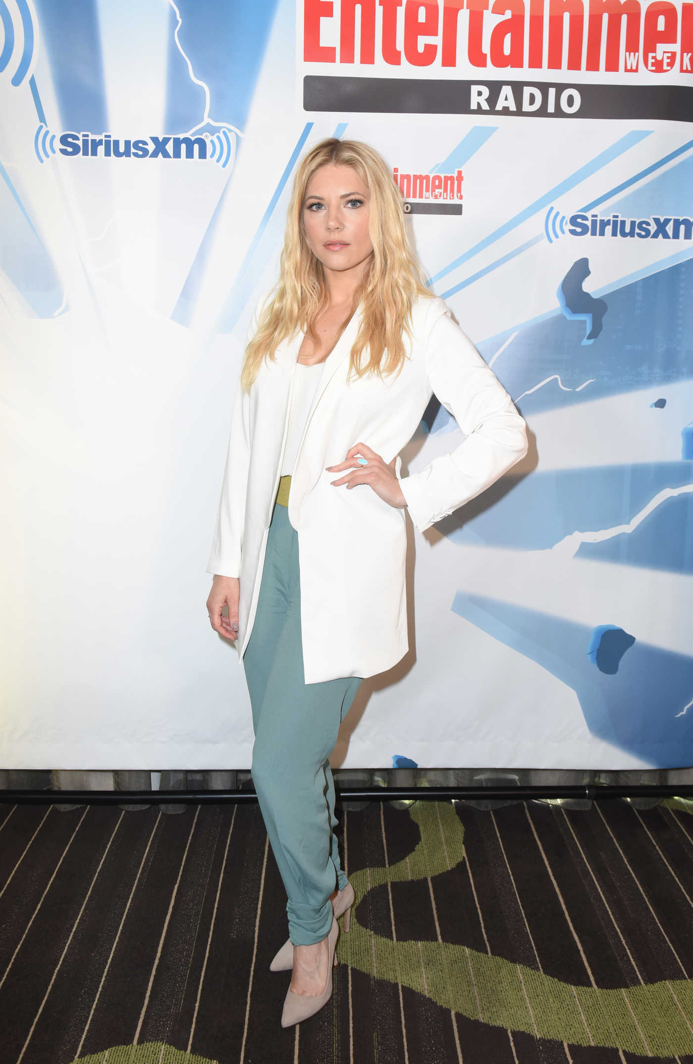 Katheryn Winnick at the SiriusXM's Entertainment Weekly Radio Channel Broadcasts from San Diego Comic Con 07/21/2017
