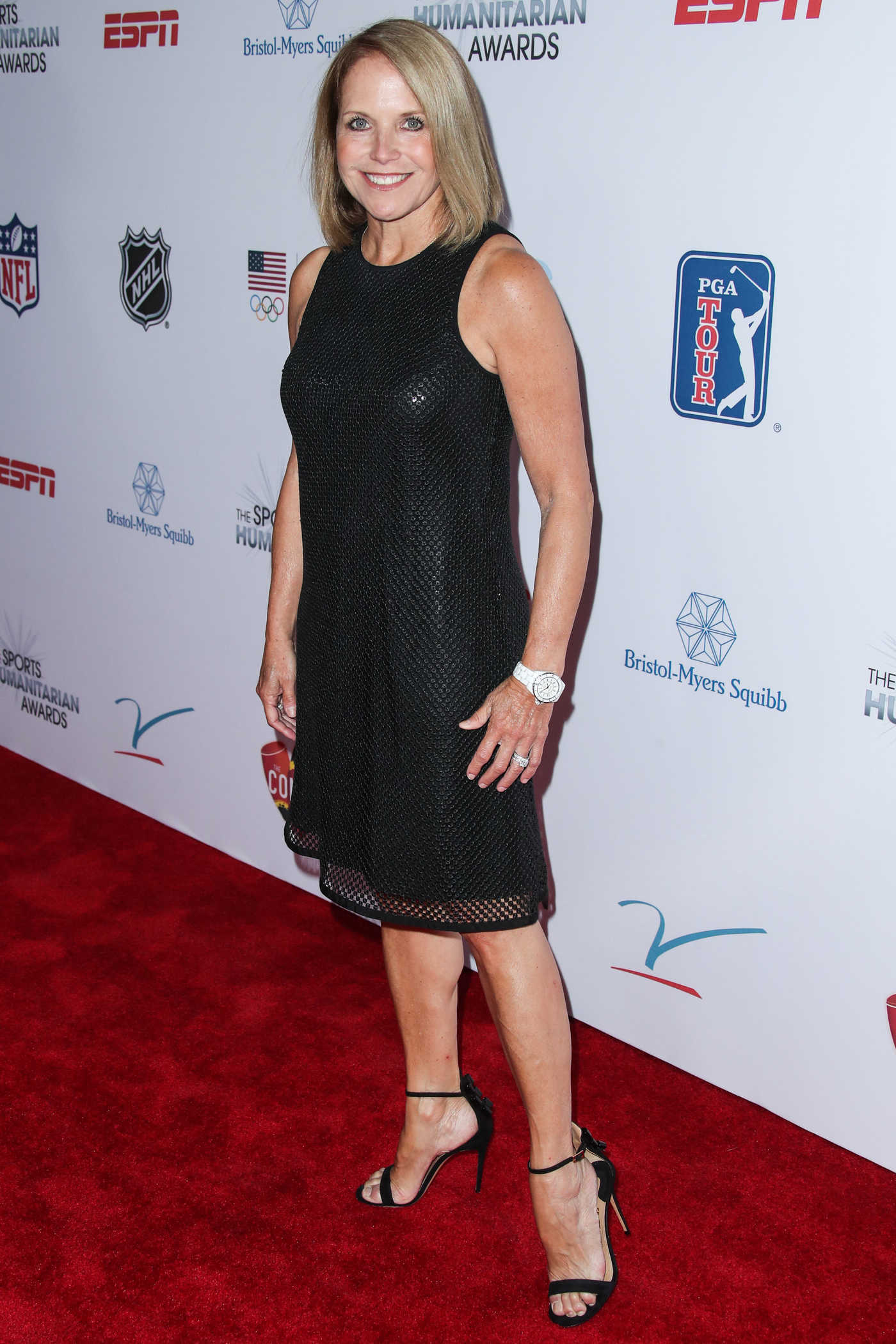 Katie Couric at the 3rd Annual Sports Humanitarian of The Year Awards in Los Angeles 07/11/2017