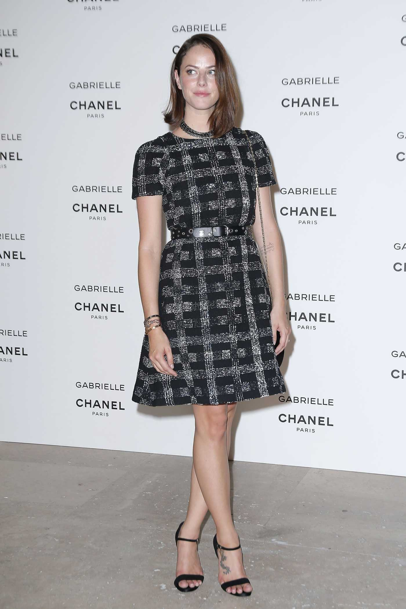 Kaya Scodelario Attends Chanel's New Perfume Gabrielle Launch Party in Paris 07/04/2017