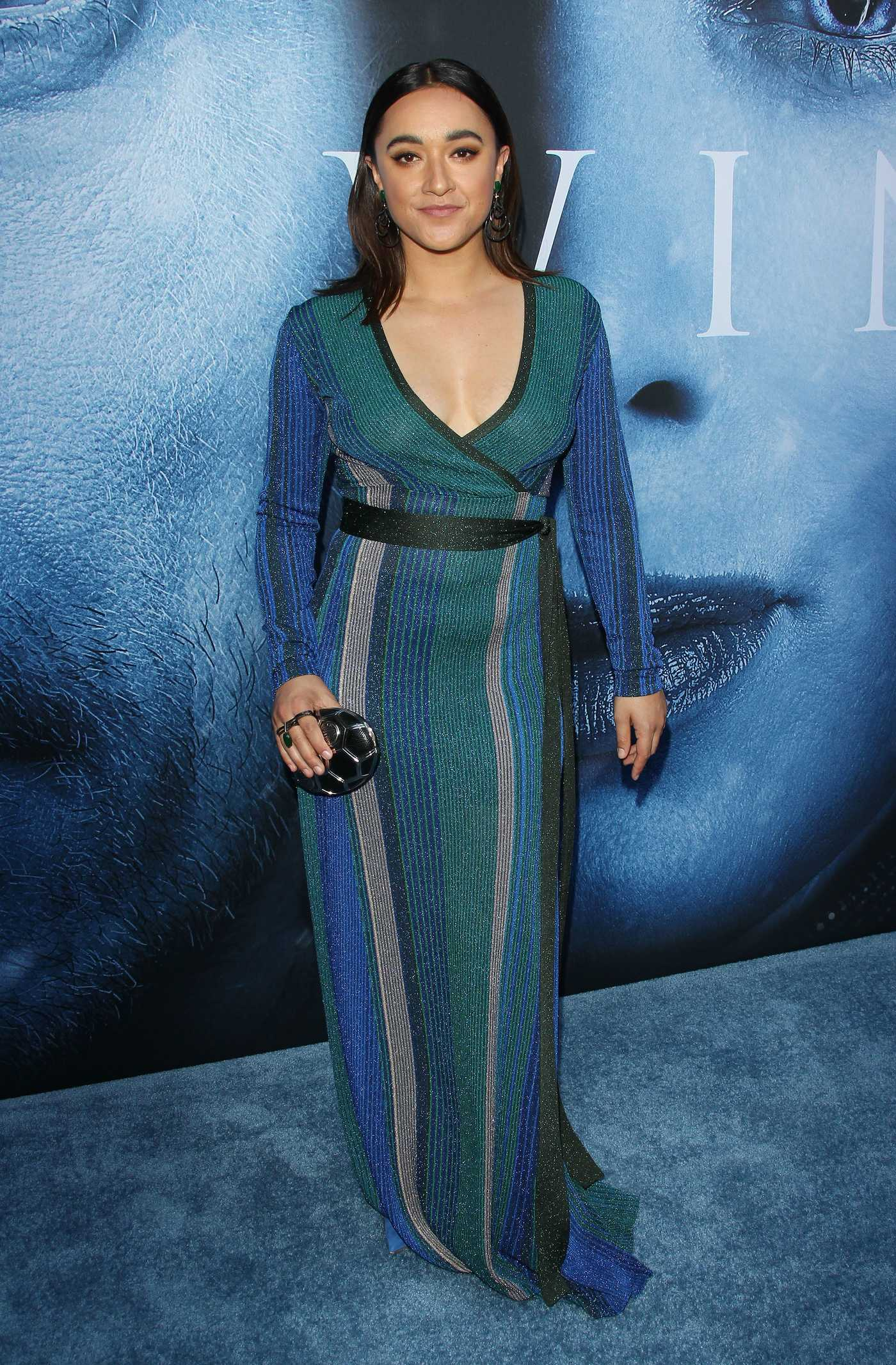 Keisha Castle-Hughes at the Game of Thrones Season 7 Premiere in Los Angeles 07/12/2017