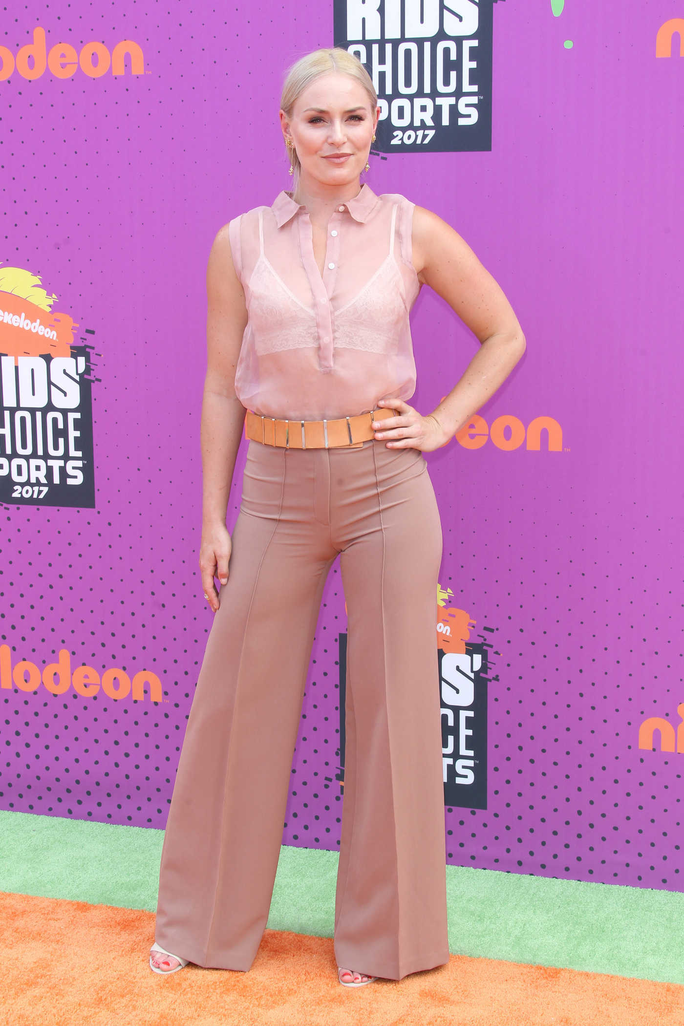 Lindsey Vonn at the Nickelodeon Kids' Choice Sports Awards in Los Angeles 07/13/2017