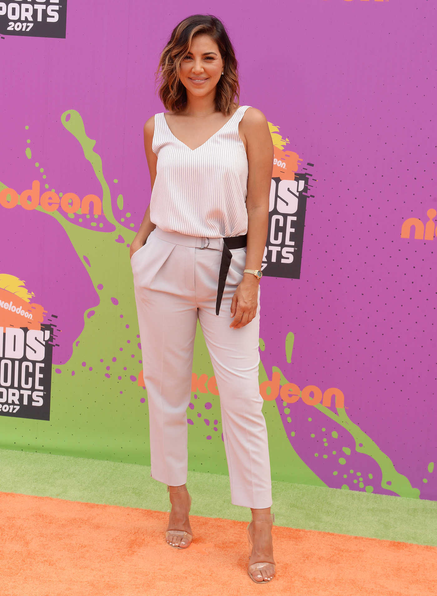 Liz Hernandez at the Nickelodeon Kids' Choice Sports Awards in Los Angeles 07/13/2017