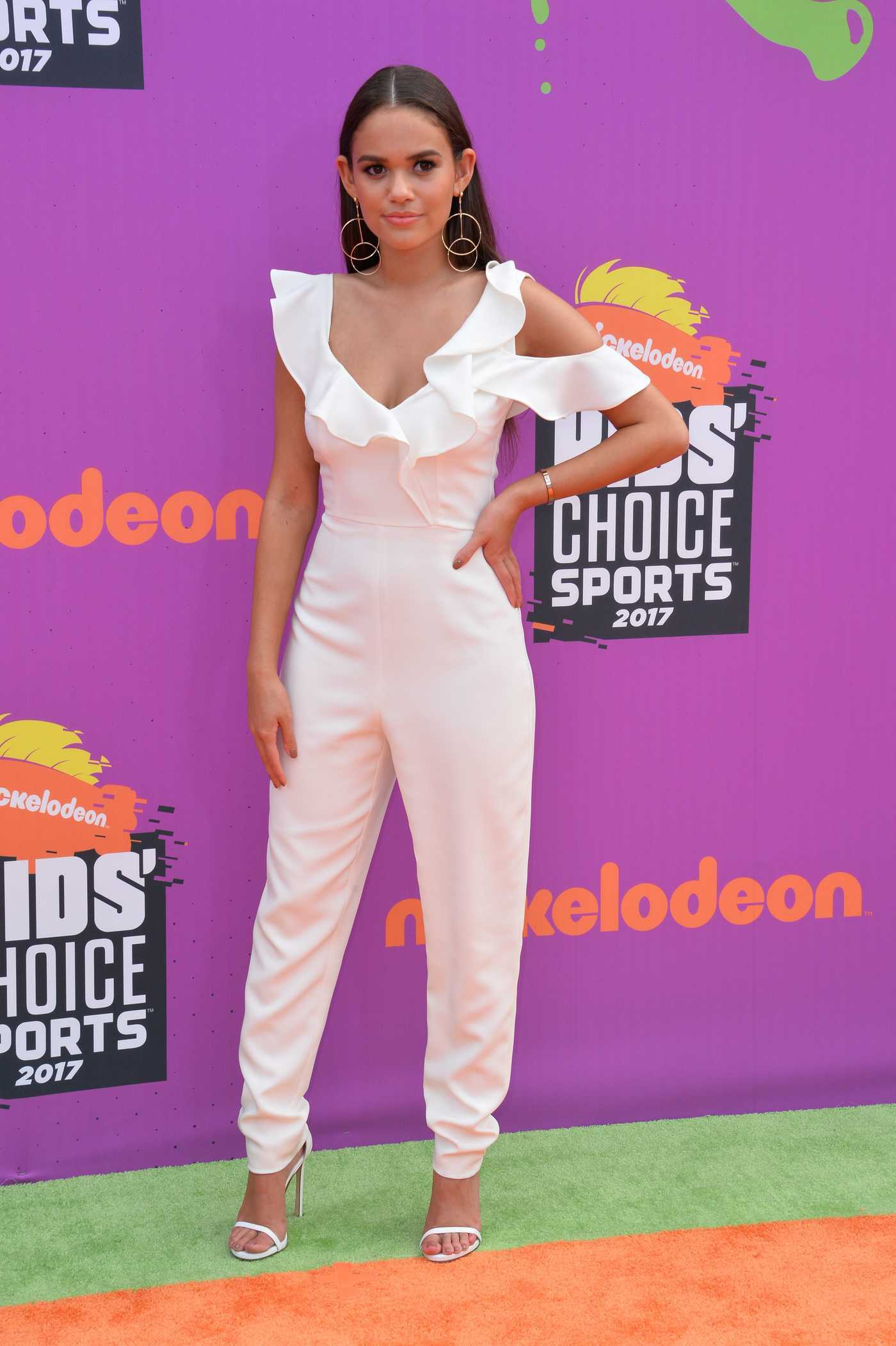 Madison Pettis at the Nickelodeon Kids' Choice Sports Awards in Los Angeles 07/13/2017