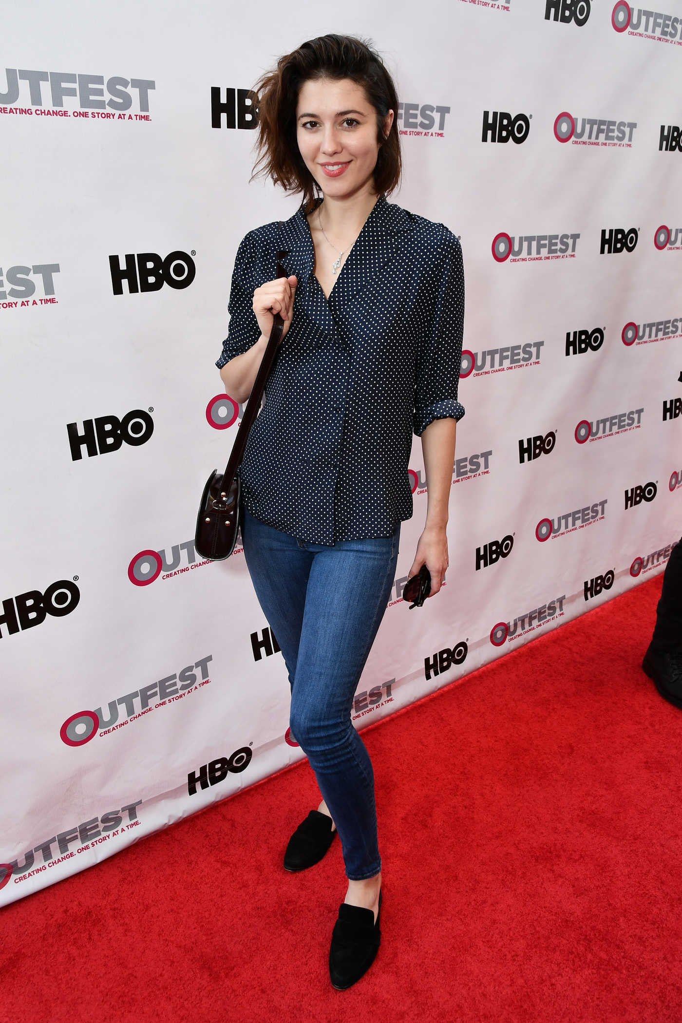 Mary Elizabeth Winstead at the God's Own Country Premiere at Outfest Los Angeles LGBT Film Festival 07/06/2017