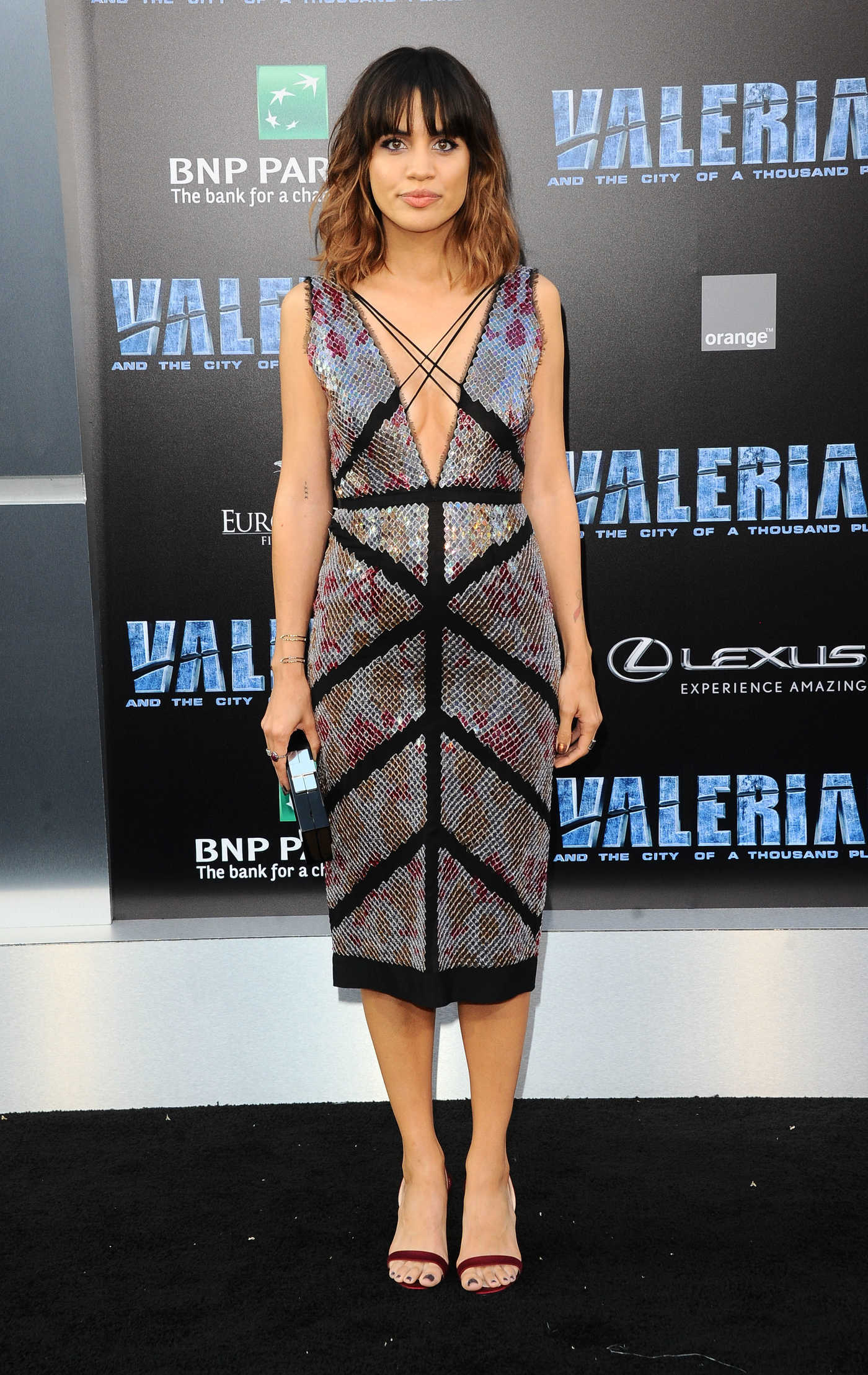 Natalie Morales at the Valerian and the City of a Thousand Planets Premiere in Hollywood 07/17/2017
