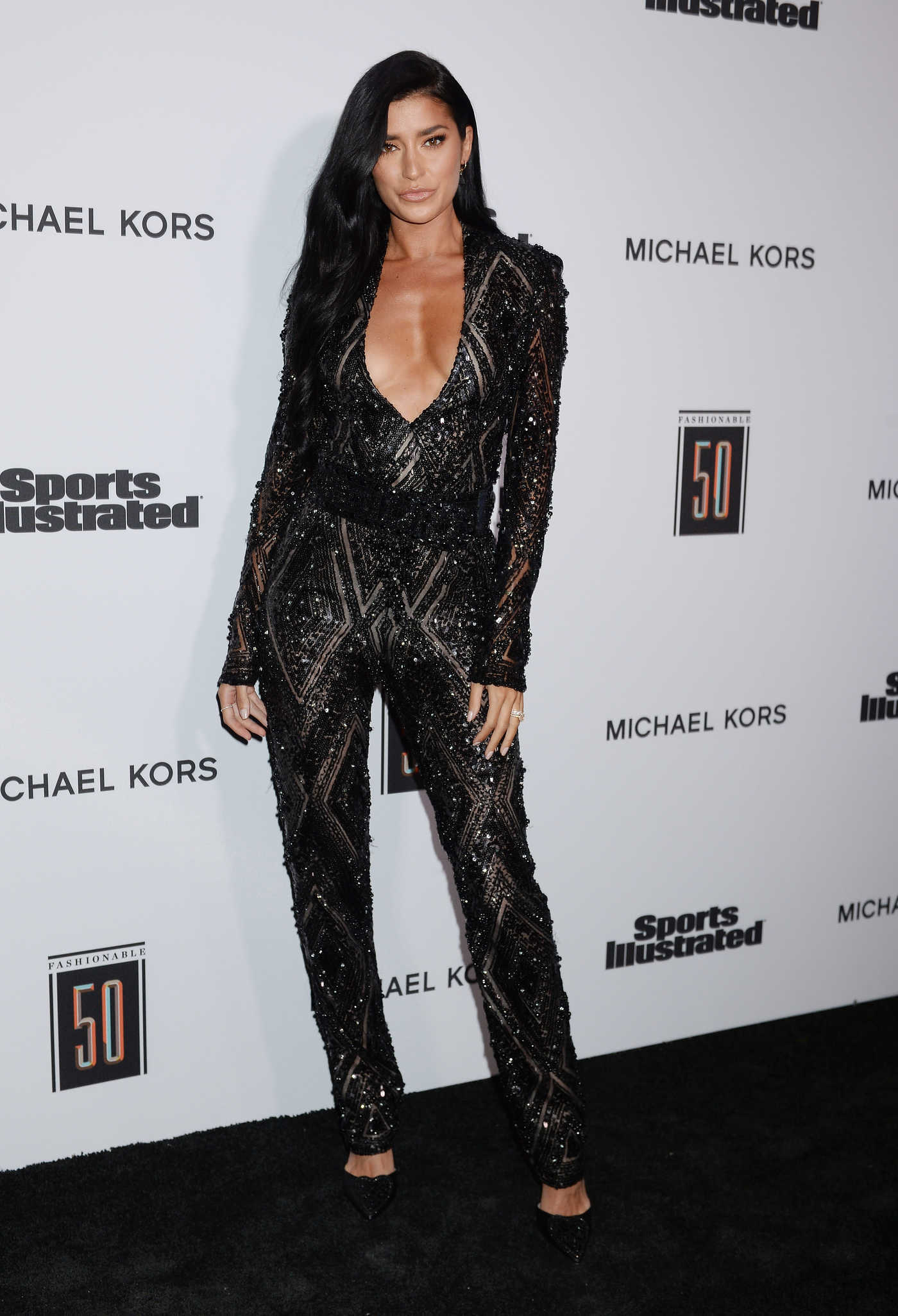 Nicole Williams at the Sports Illustrated Fashionable 50 in Hollywood 07/18/2017