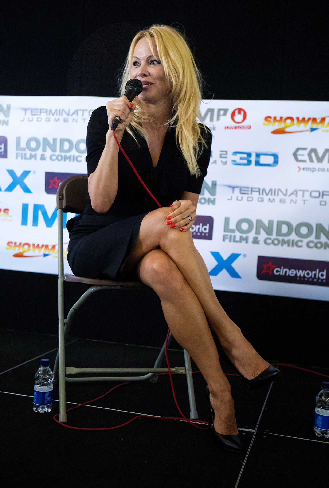 Pamela Anderson at a London Film and Comic Con 07/30/2017