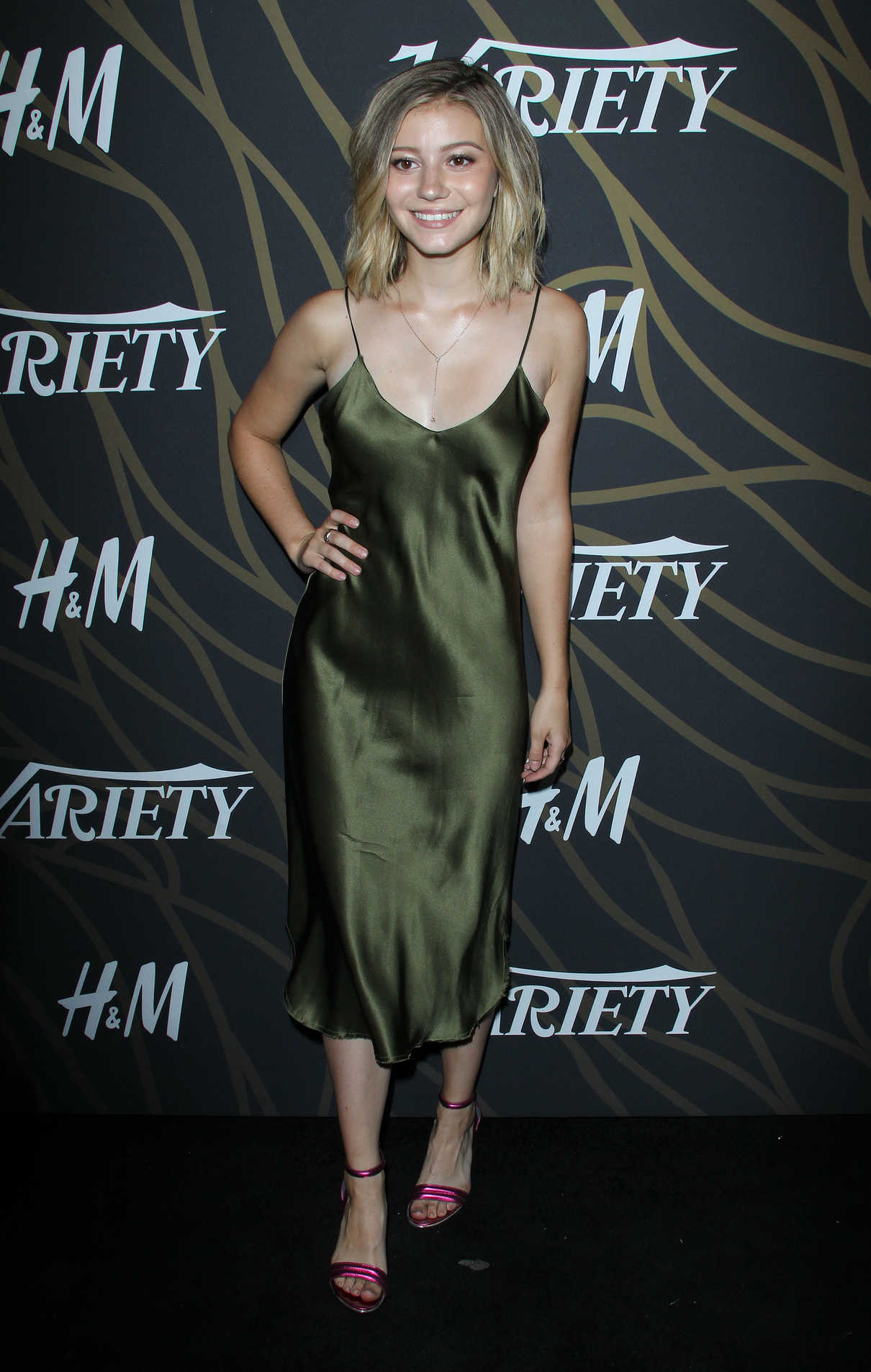 Genevieve Hannelius at Variety Power of Young Hollywood in Los Angeles 08/08/2017