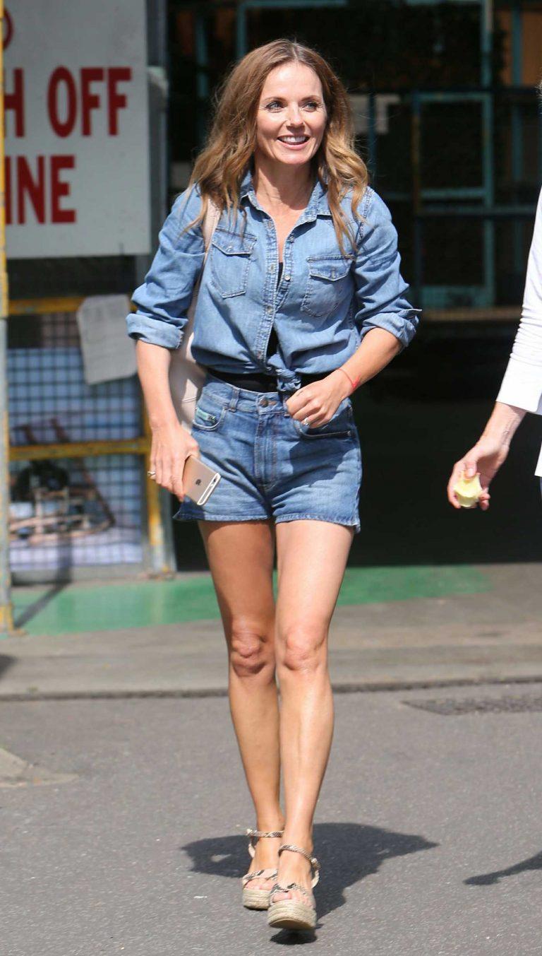 Geri Halliwell Leaves ITV Studios in London 08/28/2017-1