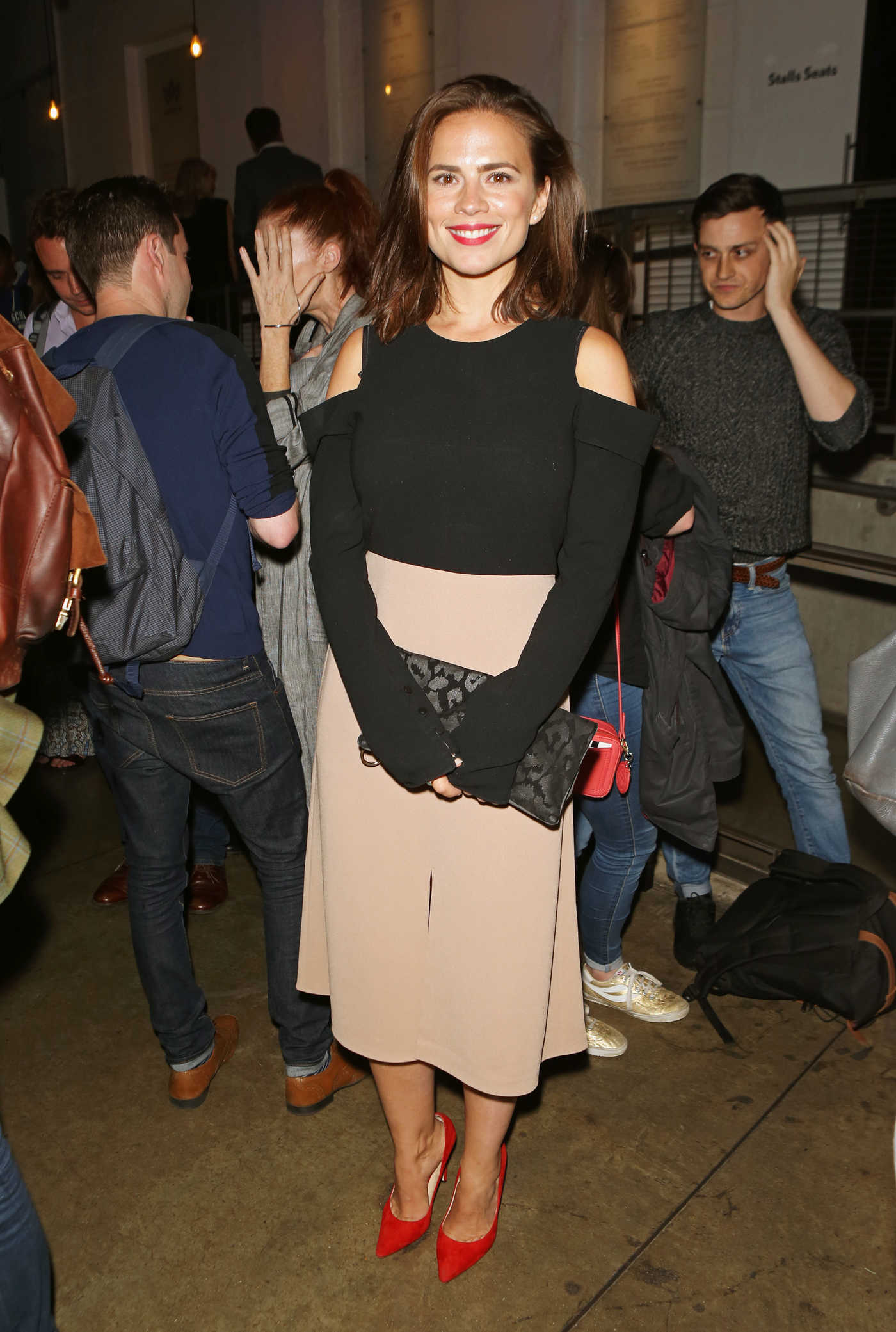 Hayley Atwell at Against Press Night After Party in London 08/18/2017