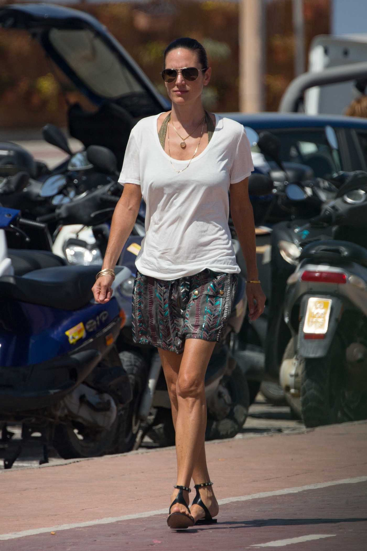 Jennifer Connelly Was Spotted Out in Formentera 08/17/2017