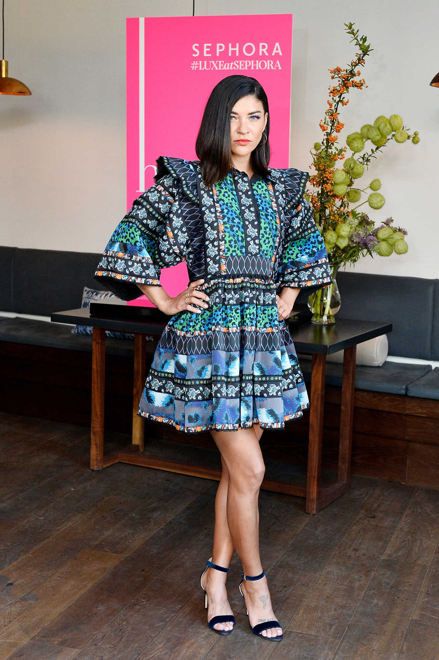 Jessica Szohr at the Harper's Bazaar September Issue Dinner in Los Angeles 08/22/2017