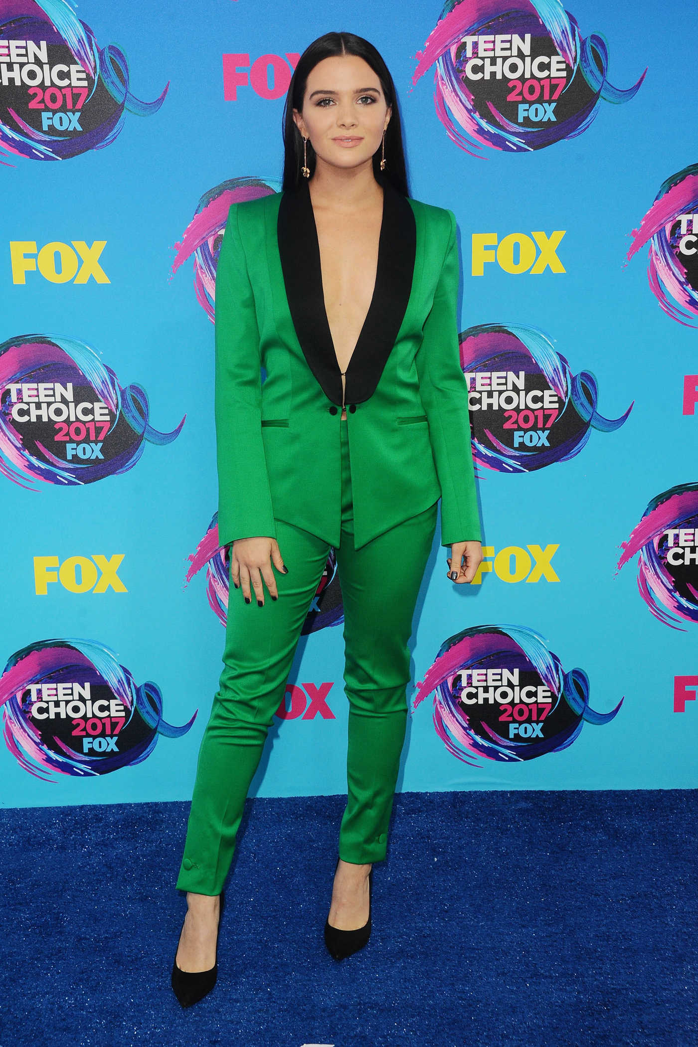 Katie Stevens at 2017 Teen Choice Awards in Los Angeles 08/13/2017