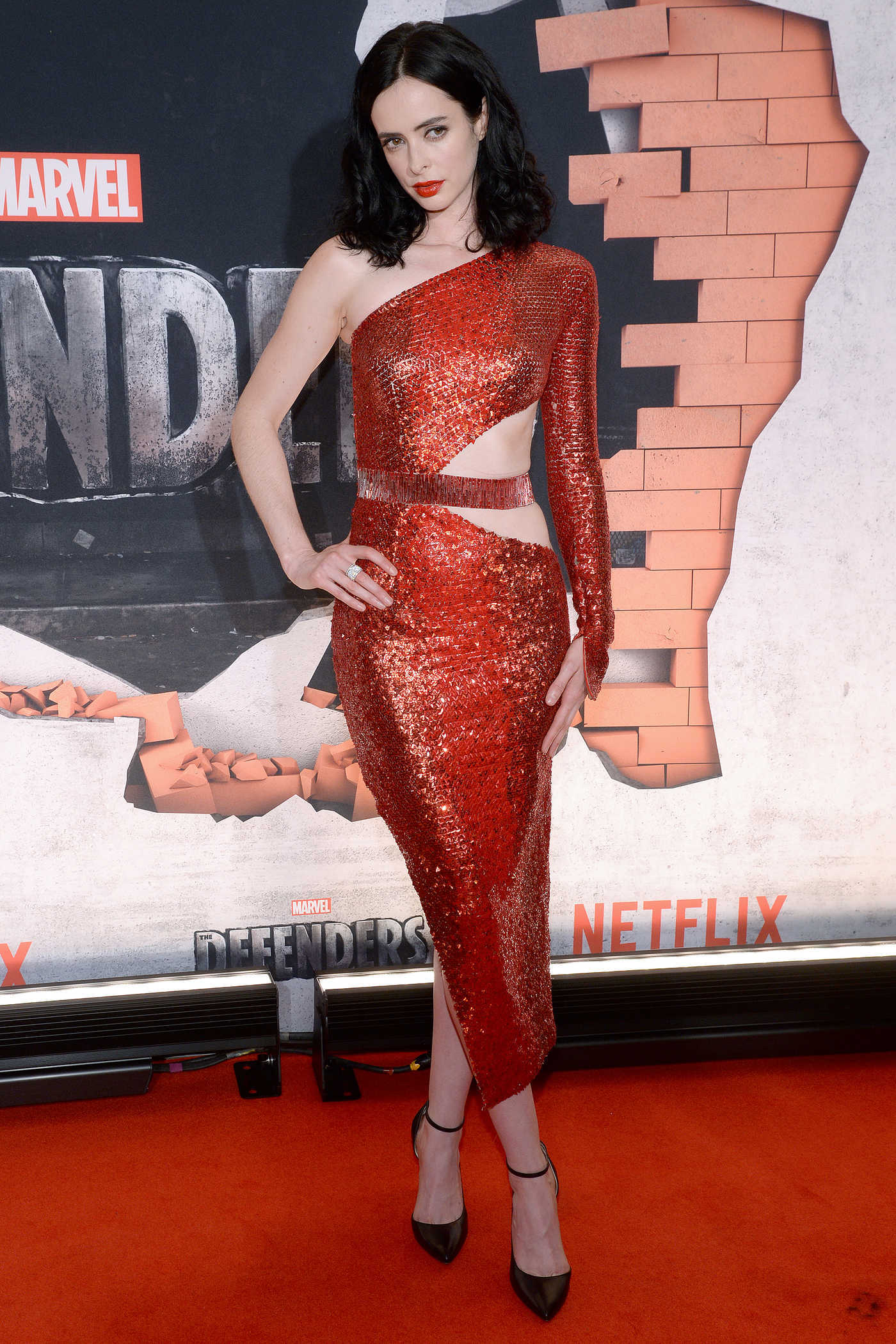 Krysten Ritter at The Defenders Premiere in New York 07/31/2017
