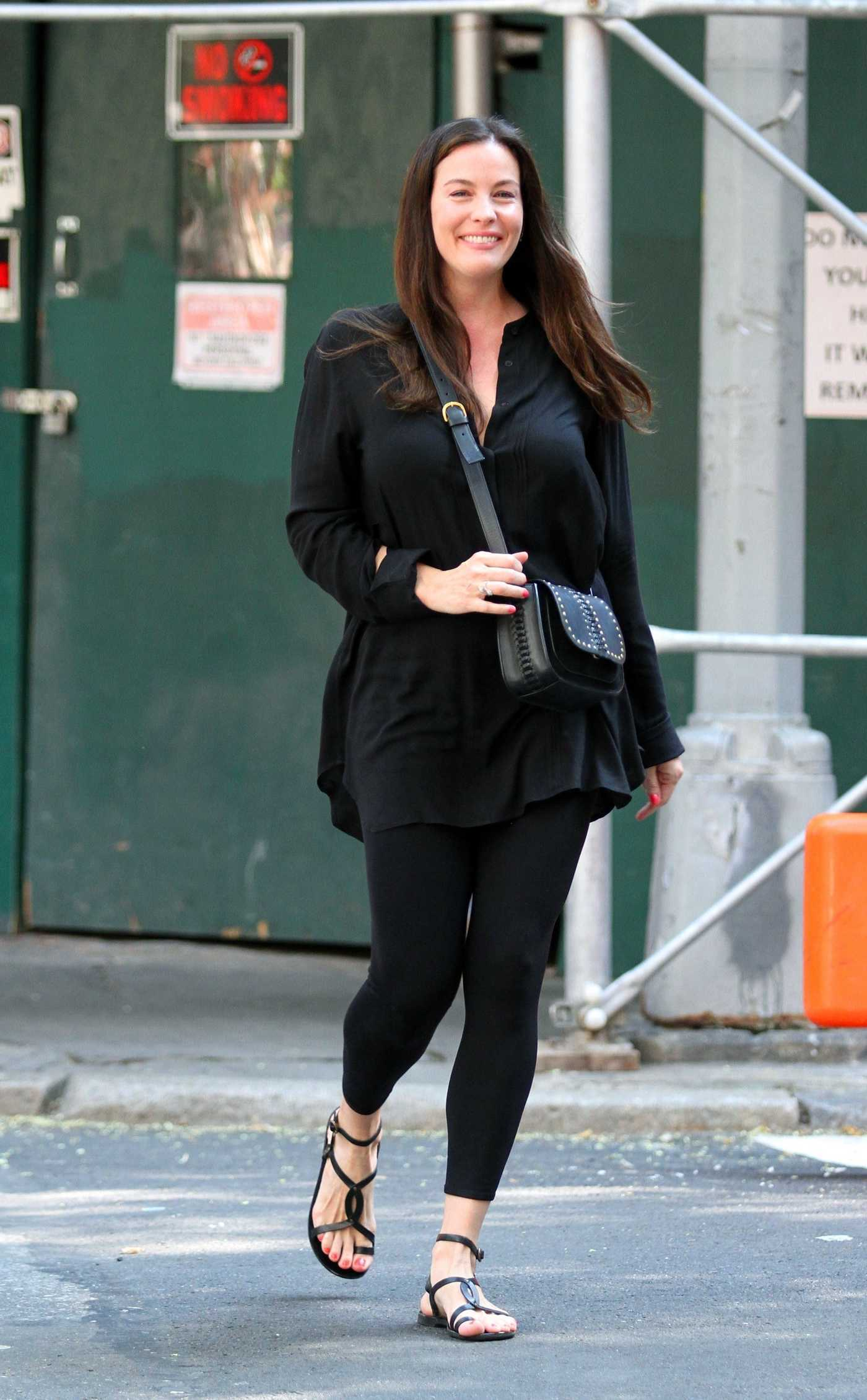 Liv Tyler Was Seen in Manhattan's West Village Neighborhood 08/20/2017