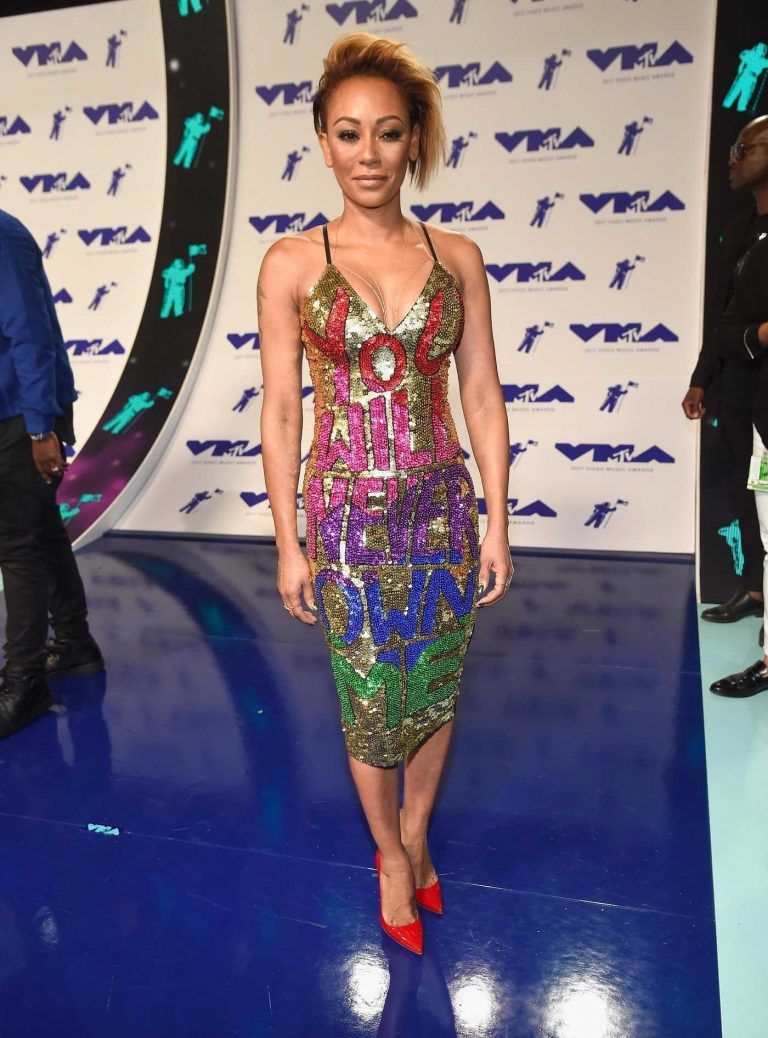 Melanie Brown at the 2017 MTV Video Music Awards in Los Angeles 08/27/2017-1