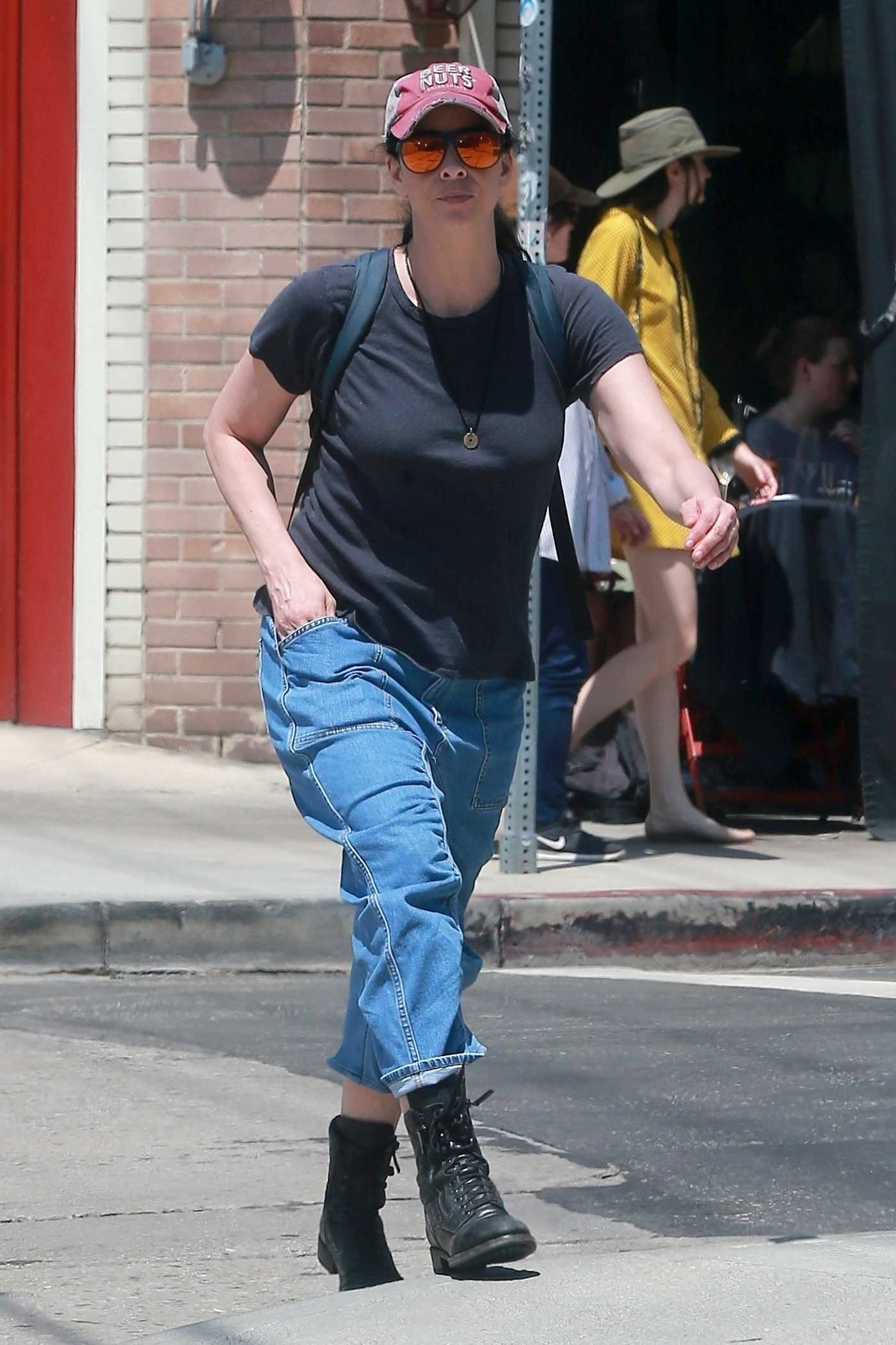 Sarah Silverman Was Seen Out in Los Feliz 08/13/2017
