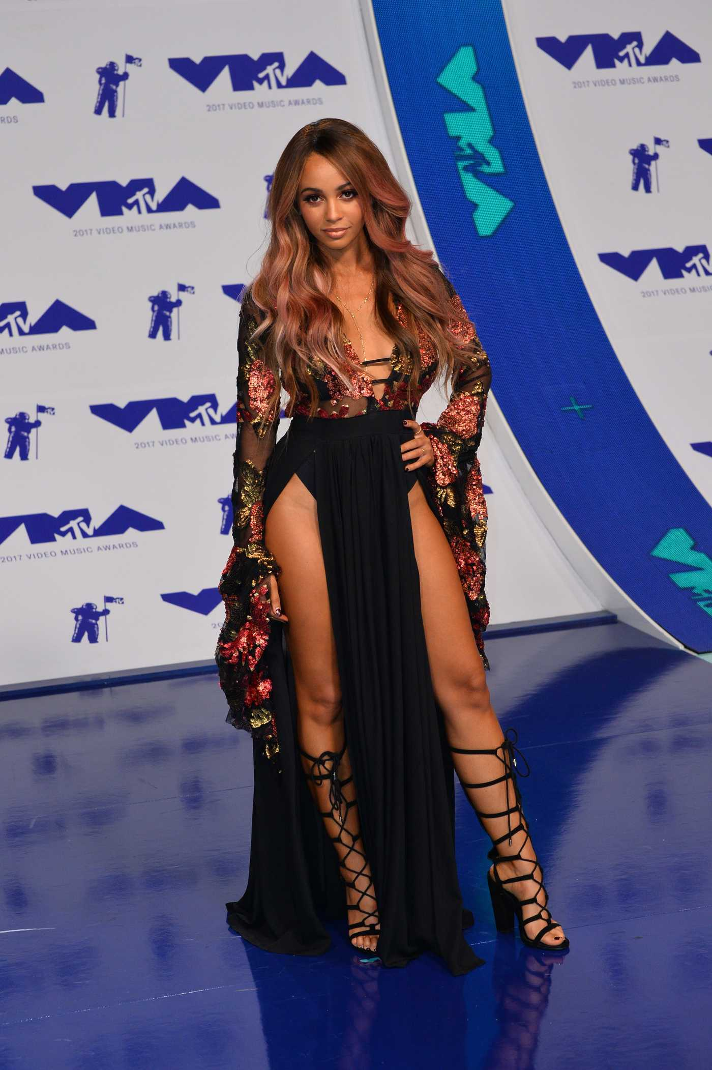 Vanessa Morgan at the 2017 MTV Video Music Awards in Los Angeles 08/27/2017