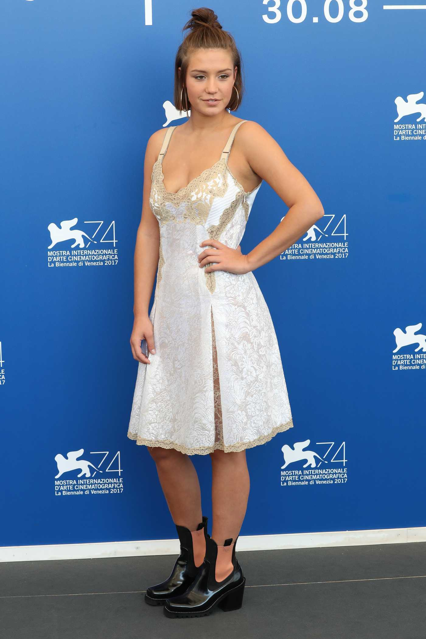 Adele Exarchopoulos at the Racer And The Jailbird Photocall During the 74th Venice International Film Festival in Italy 09/08/2017