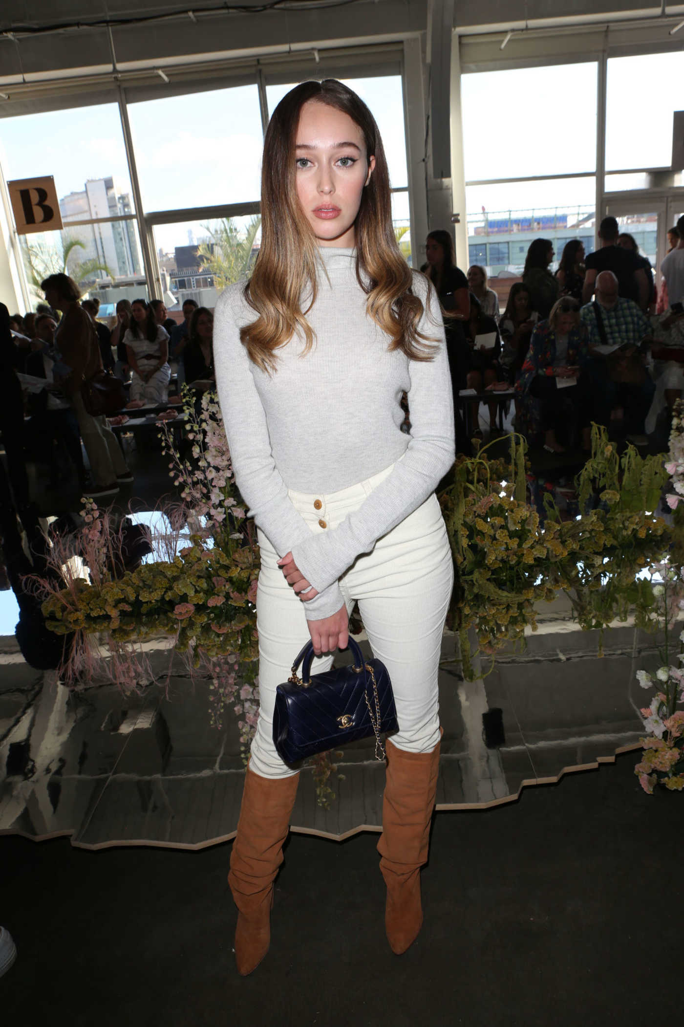 Alycia Debnam-Carey at Ulla Johnson Show During New York Fashion Week 09/07/2017