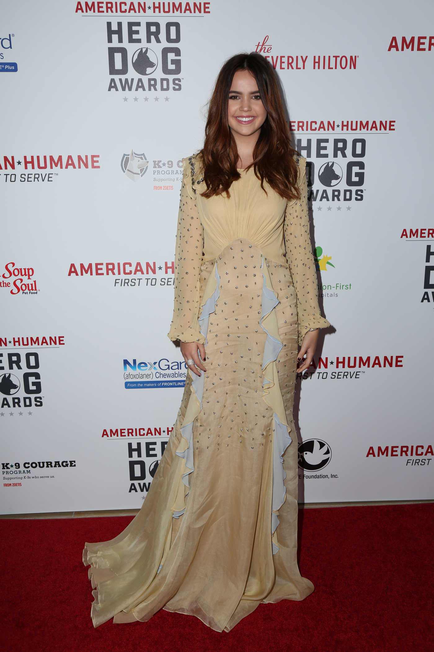 Bailee Madison at the 7th Annual Hero Dog Awards 09/17/2017