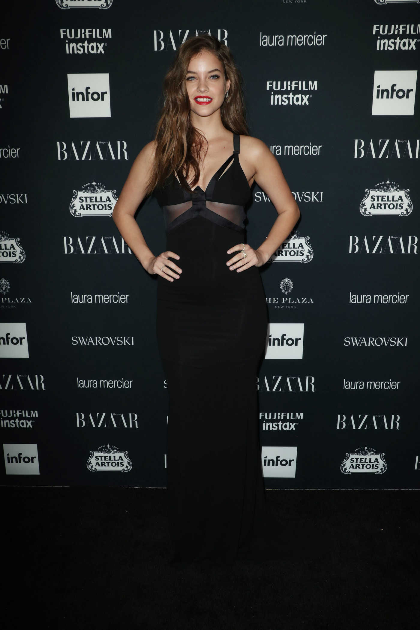 Barbara Palvin at Harper's Bazaar ICONS Party During New York Fashion Week 09/08/2017