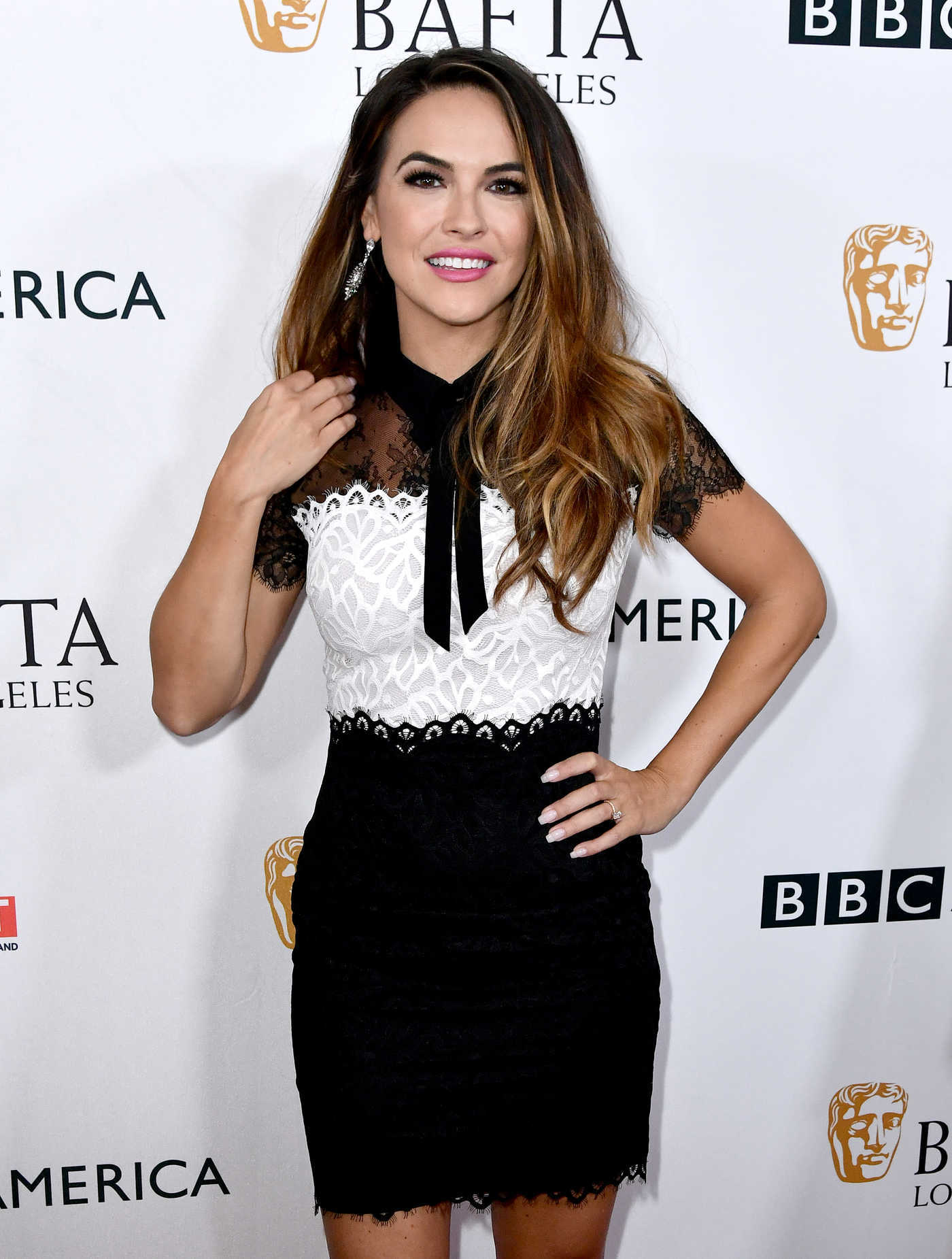 Chrishell Stause at BAFTA Tea Party in Los Angeles 09/16/2017