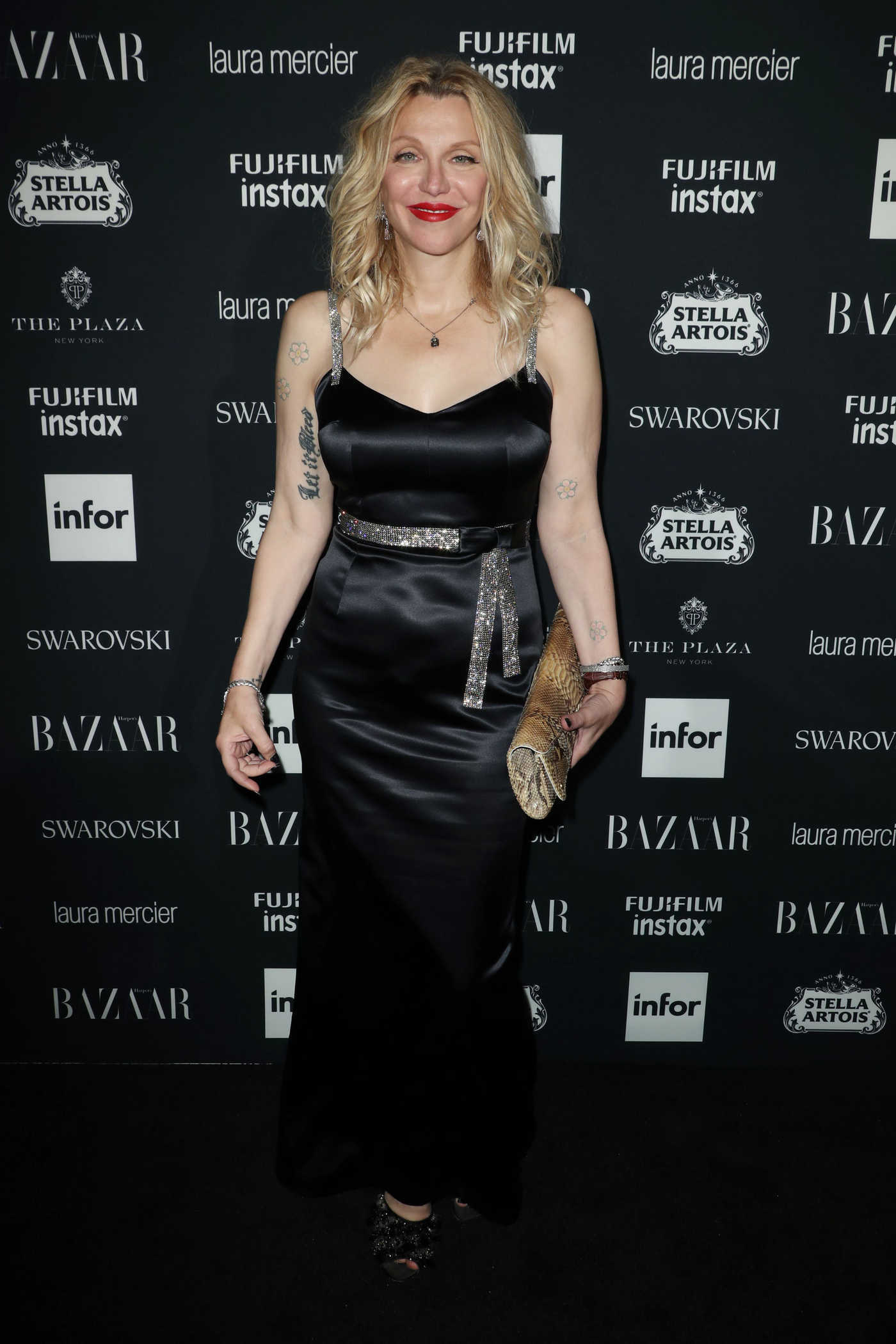 Courtney Love at Harper's Bazaar ICONS Party During New York Fashion Week 09/08/2017
