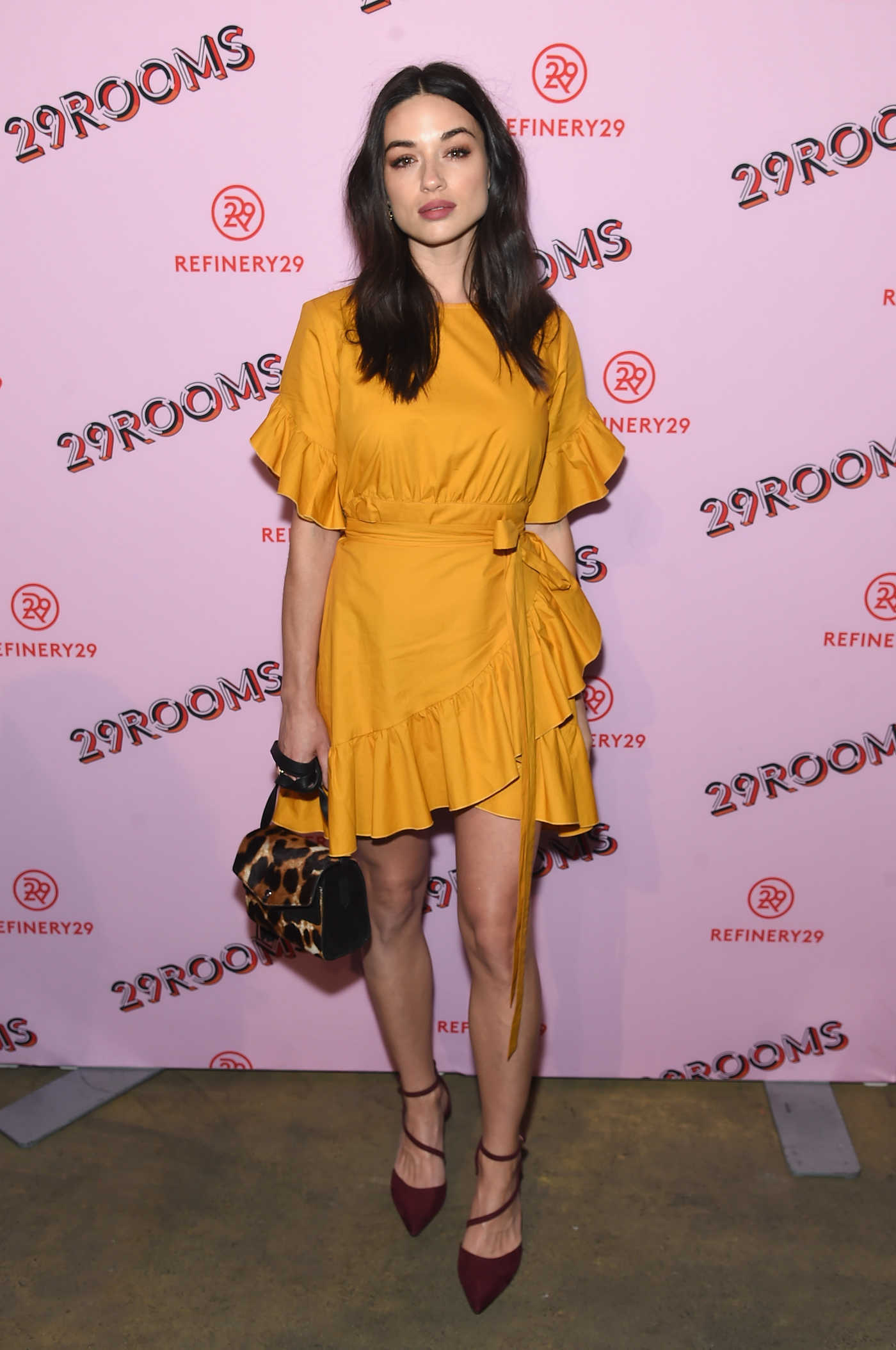 Crystal Reed at the Refinery29 Third Annual 29Rooms: Turn it Into Art Event in Brooklyn 09/07/2017