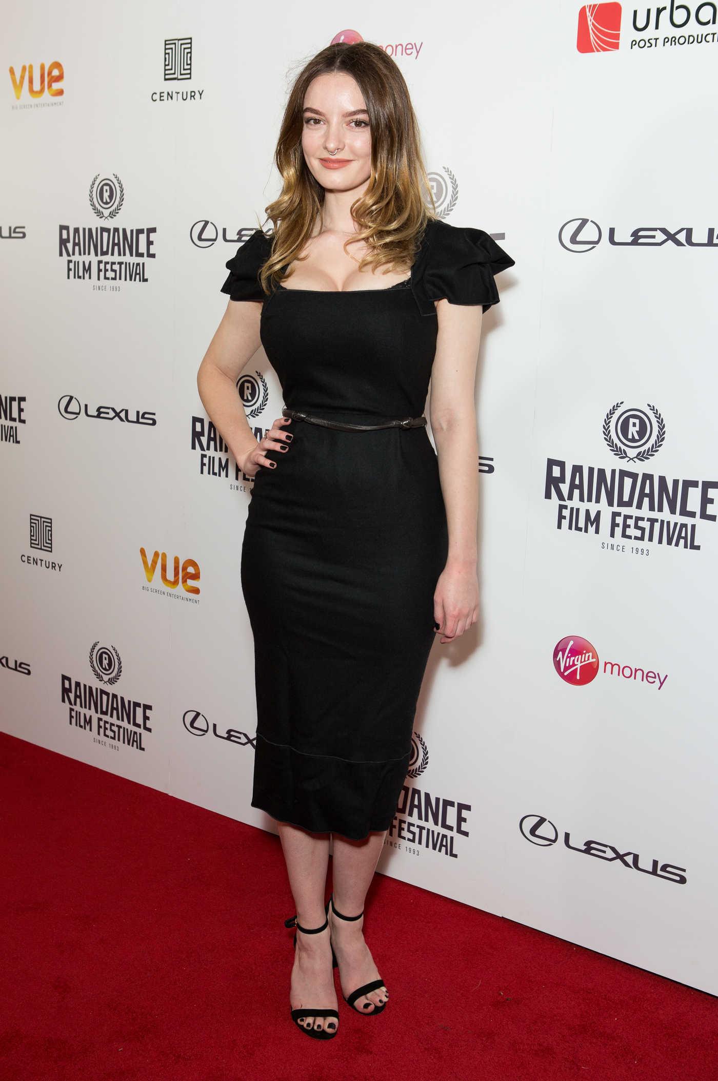 Dakota Blue Richards at Raindance Film Festival Opening Gala in London 09/20/2017