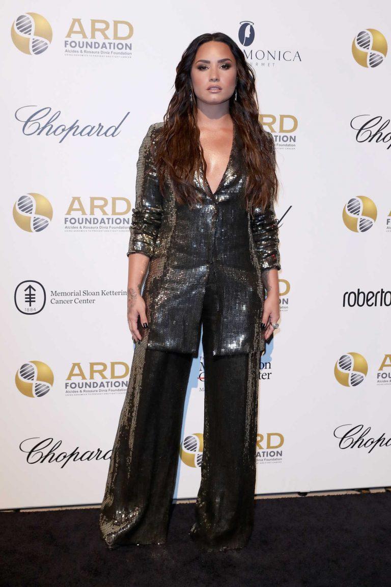 Demi Lovato at Memorial Sloan Kettering Cancer Center Benefit in New York 09/07/2017-1