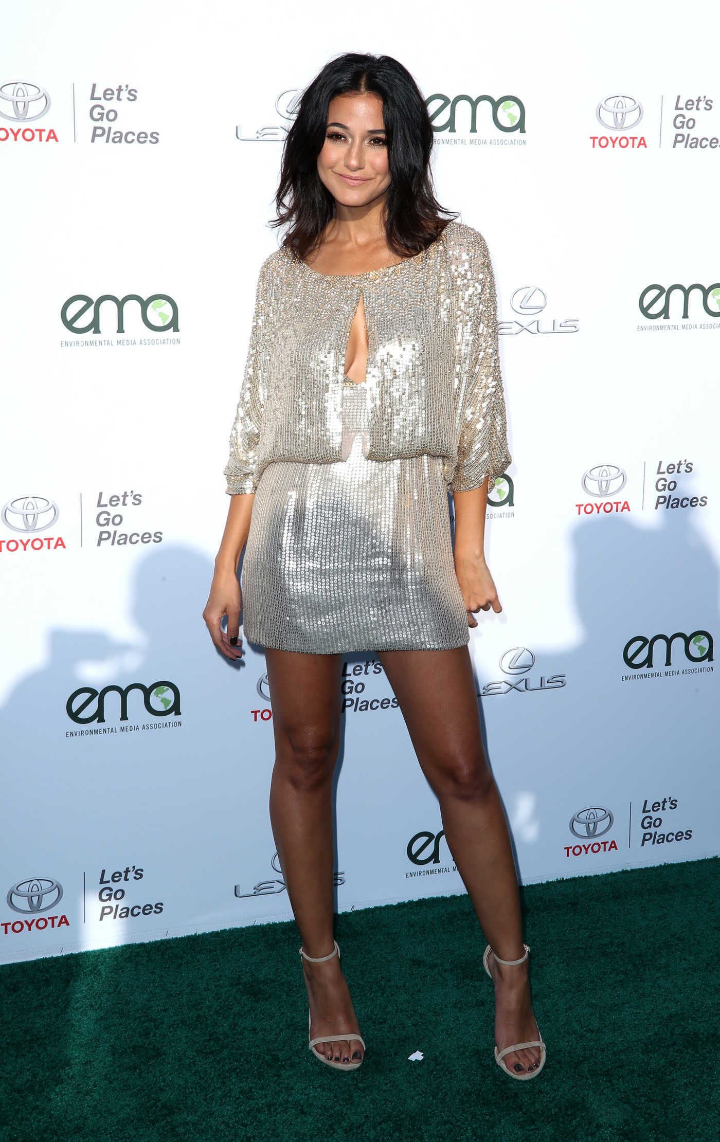 Emmanuelle Chriqui at the Environmental Media Association Awards in Los Angeles 09/23/2017