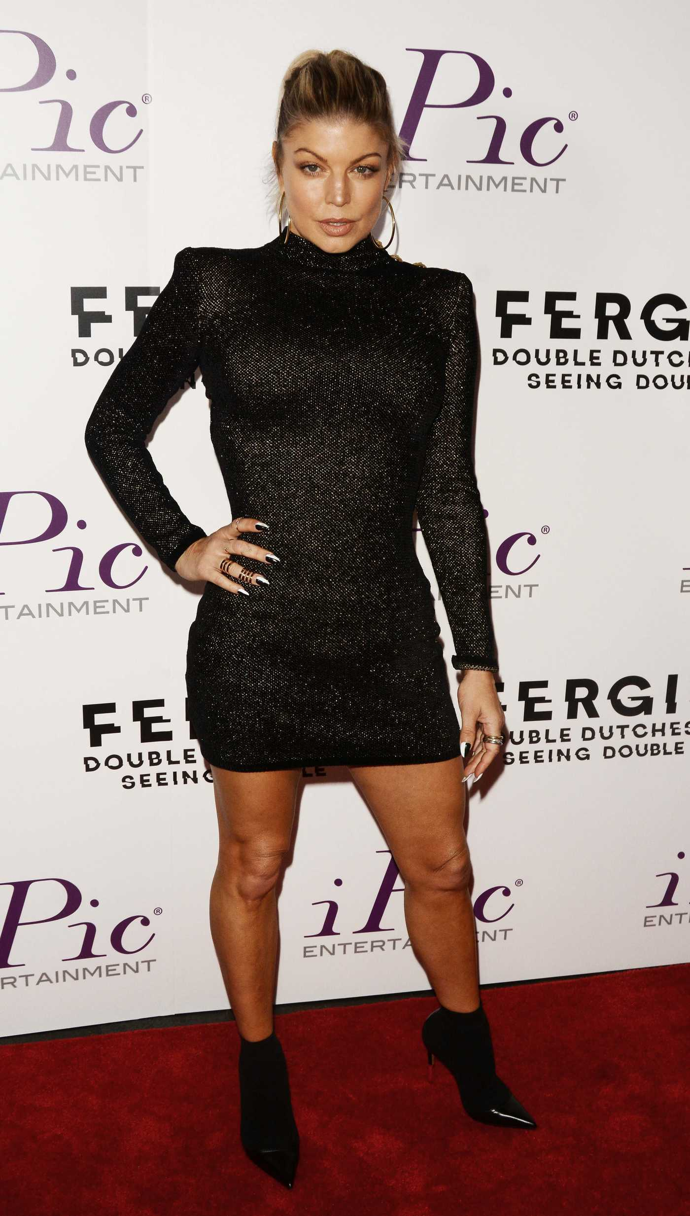 Fergie at the Double Dutchess Visual Album Launch in New York 09/20/2017