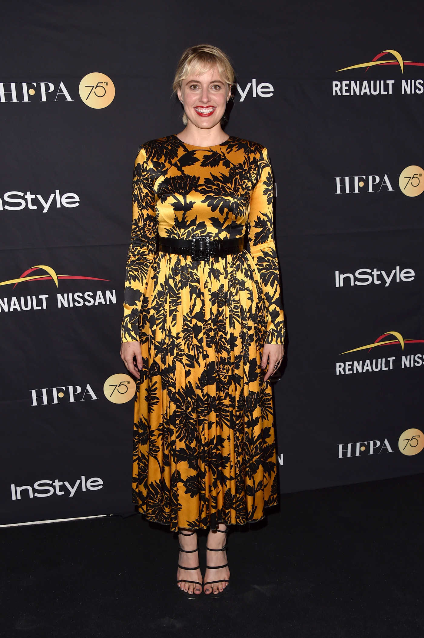 Greta Gerwig at HFPA and InStyle Annual Celebration During Toronto International Film Festival 09/09/2017