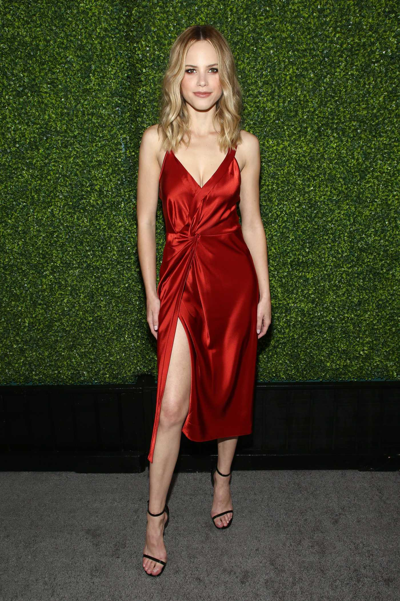 Halston Sage Attends the FOX Fall Party in LA 09/25/2017