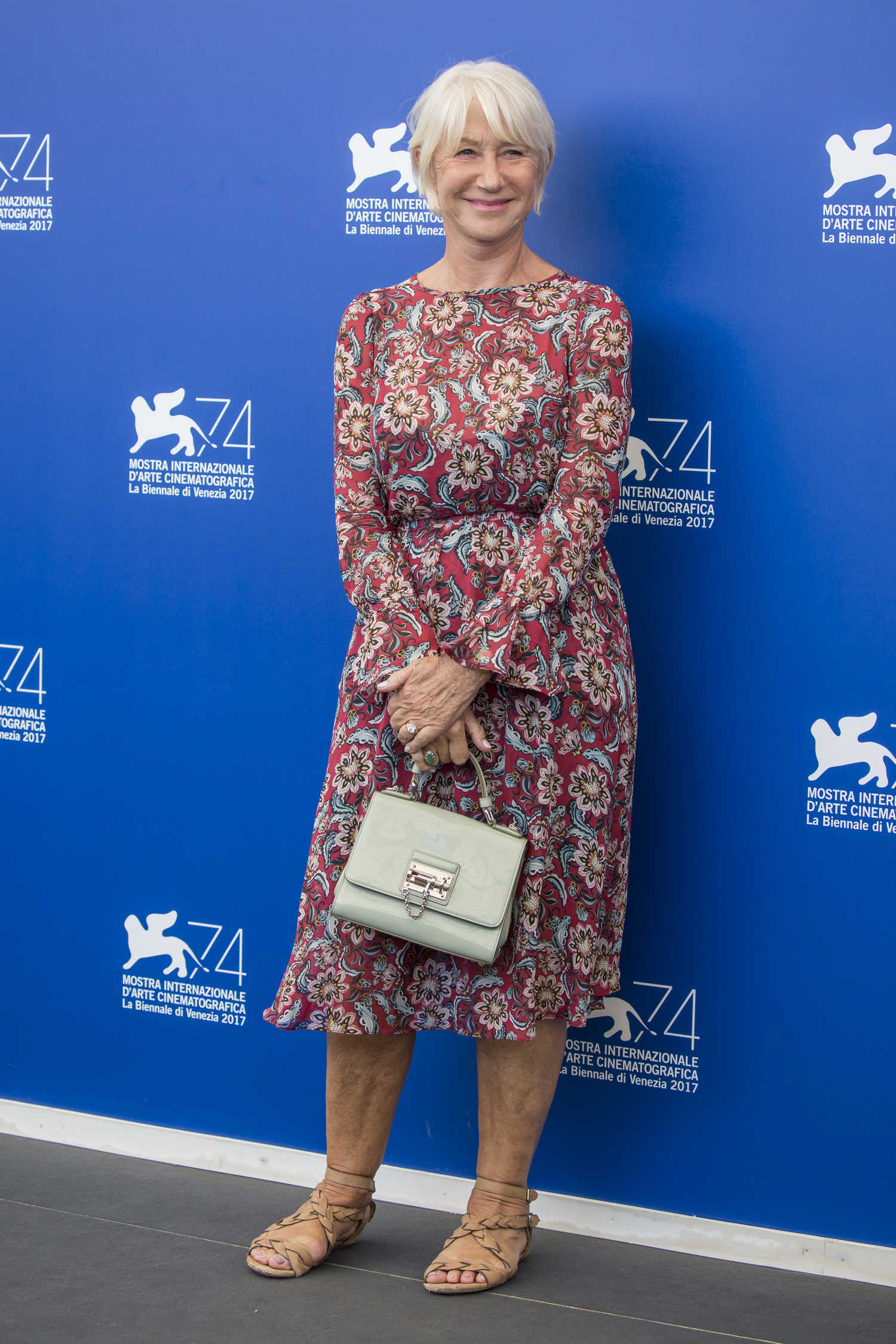 Helen Mirren at The Leisure Seeker Photocall During the 74th Venice International Film Festival in Italy 09/02/2017