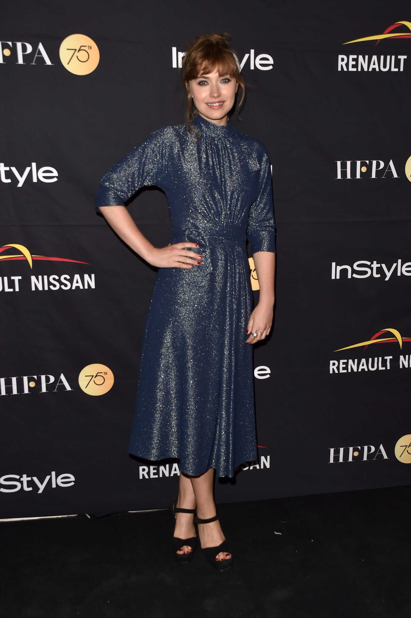 Imogen Poots at HFPA and InStyle Annual Celebration During Toronto International Film Festival 09/09/2017