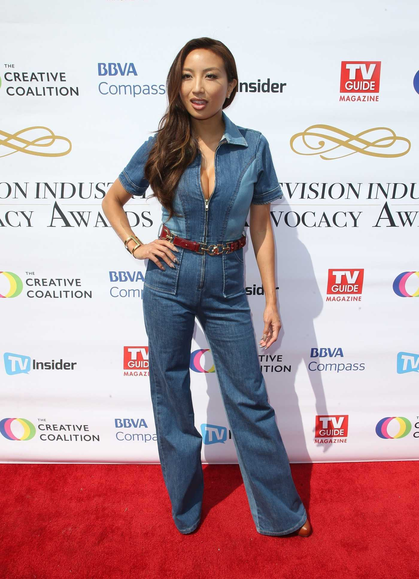 Jeannie Mai at Television Industry Advocacy Awards at TAO in Hollywood 09/16/2017
