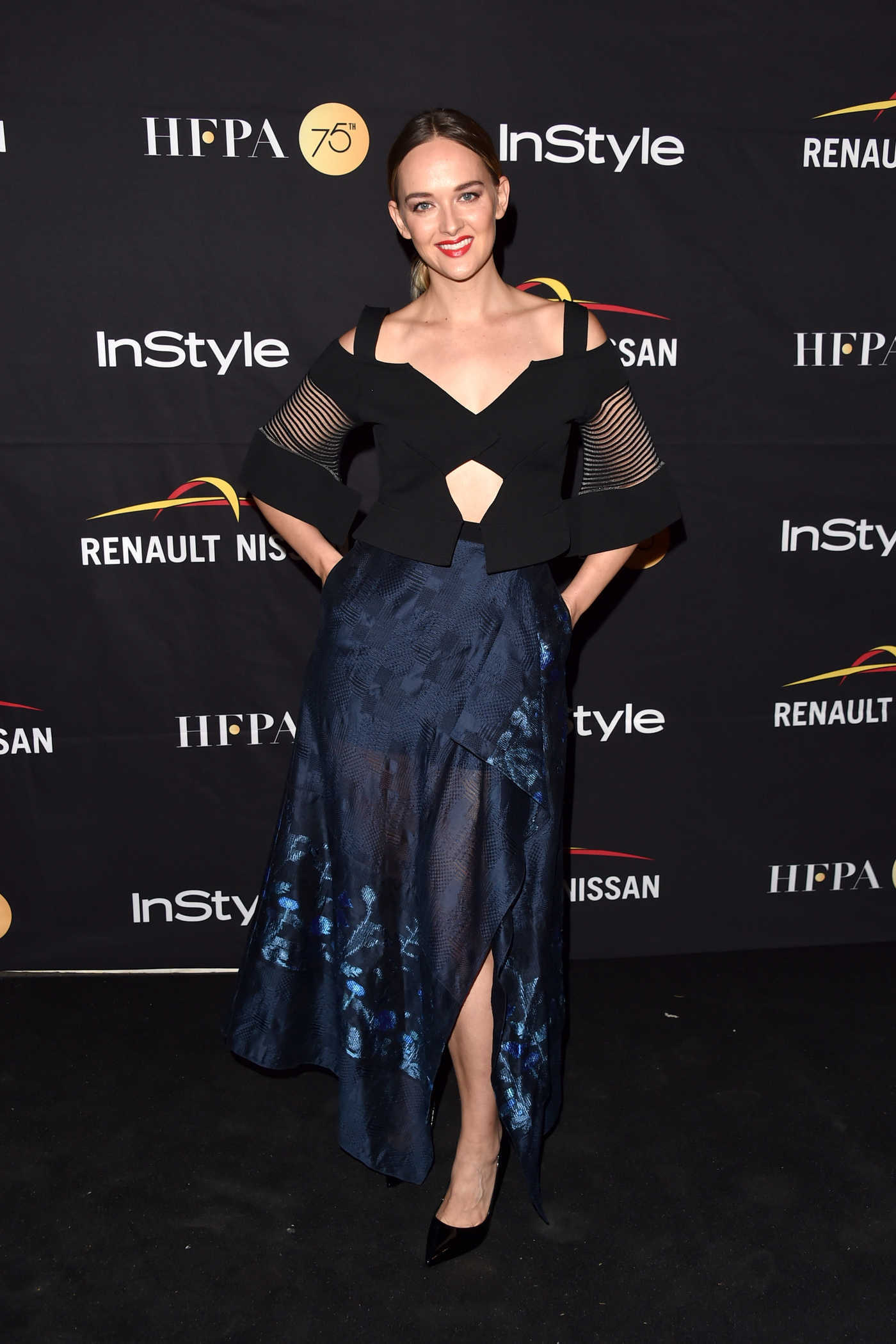 Jess Weixler at HFPA and InStyle Annual Celebration During Toronto International Film Festival 09/09/2017